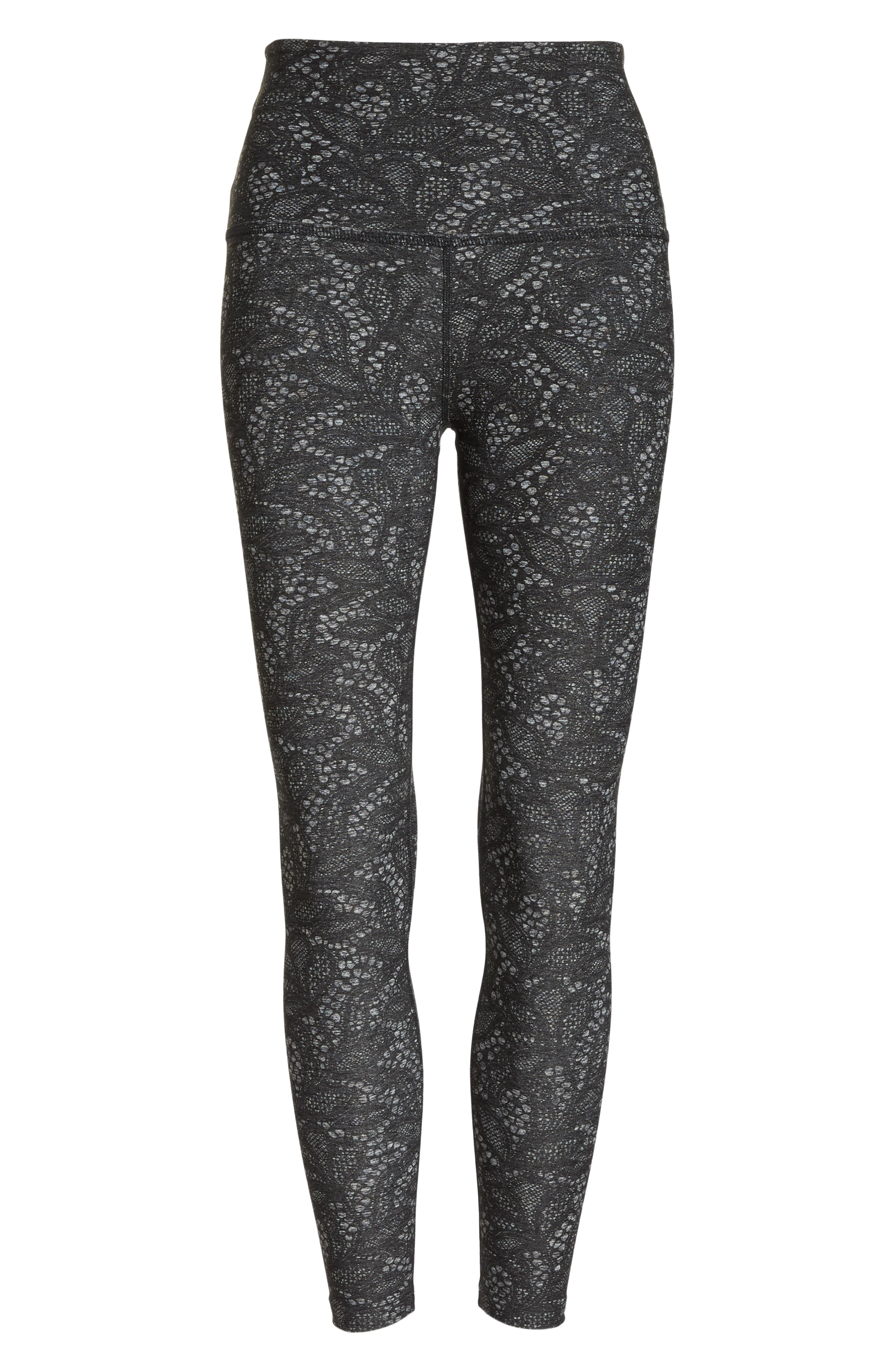 So Lacy Space Dye High Waist Leggings,                             Alternate thumbnail 7, color,                             020