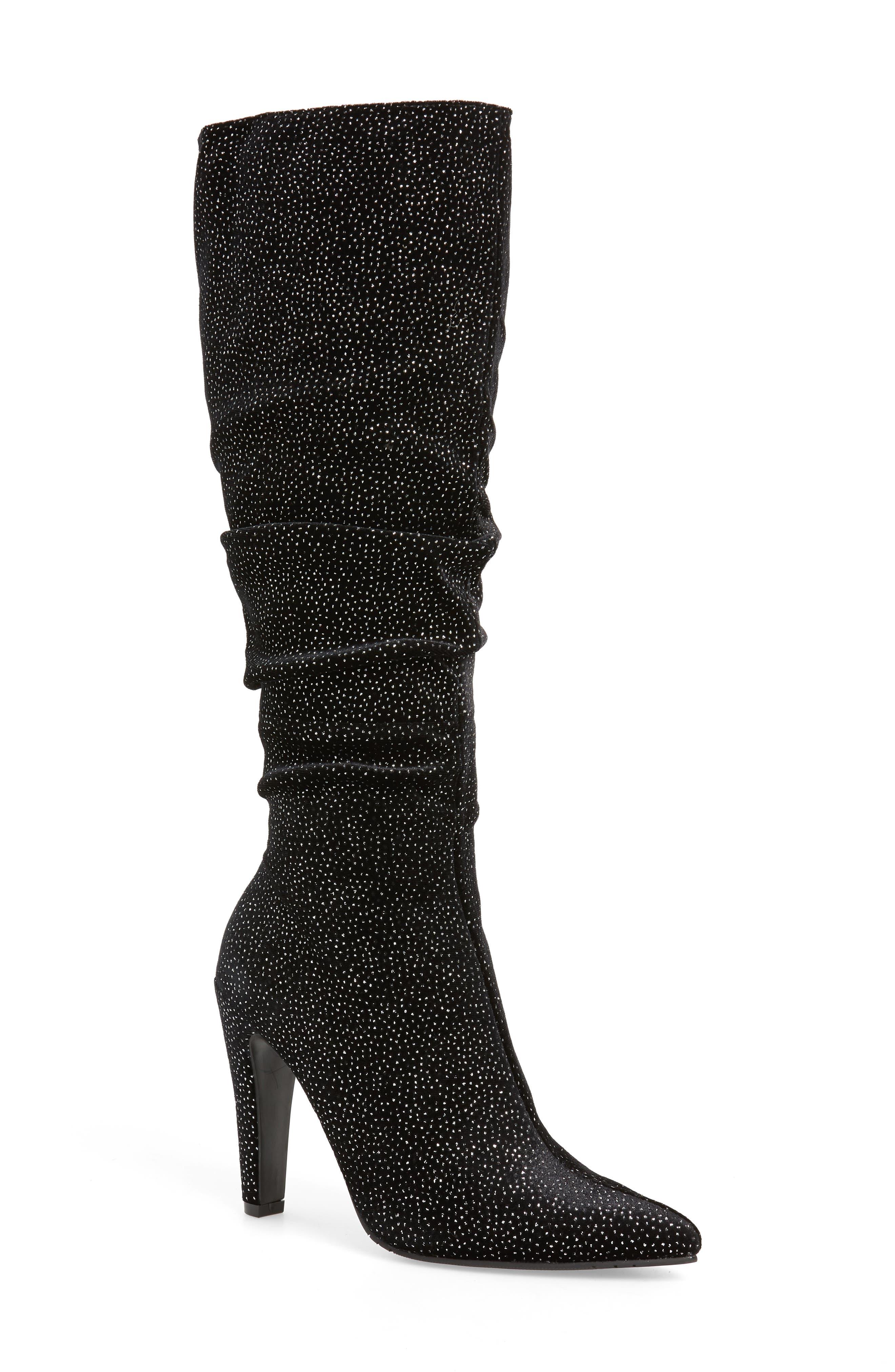 Nina Diandra Knee High Boot- Black