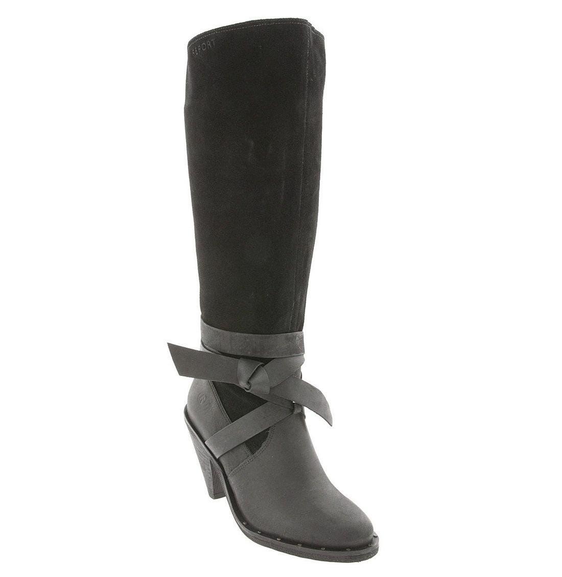 REPORT 'Flora' Boot, Main, color, BLK