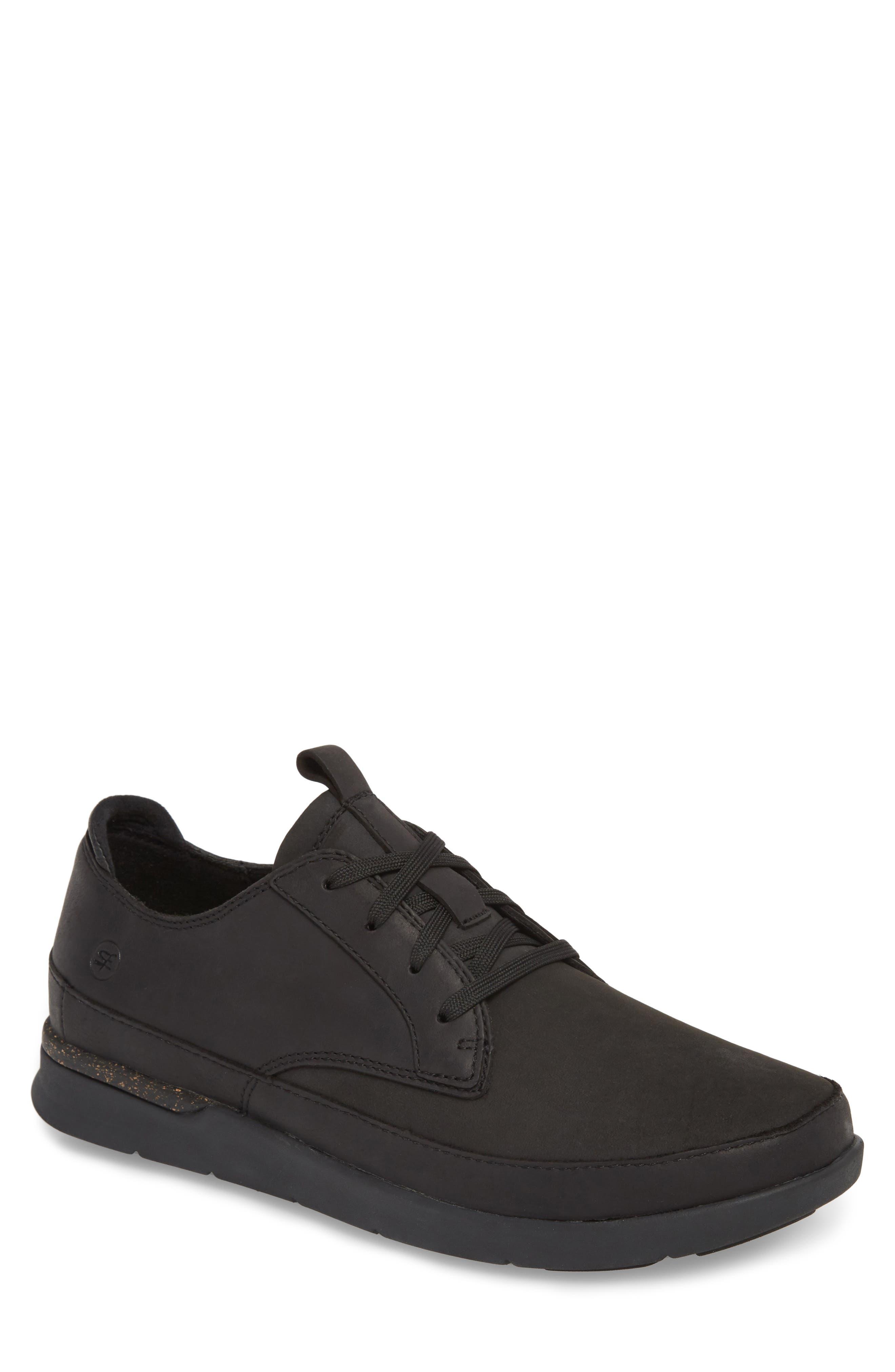Worldwide Ross Waterproof Sneaker,                             Main thumbnail 1, color,                             BLACK