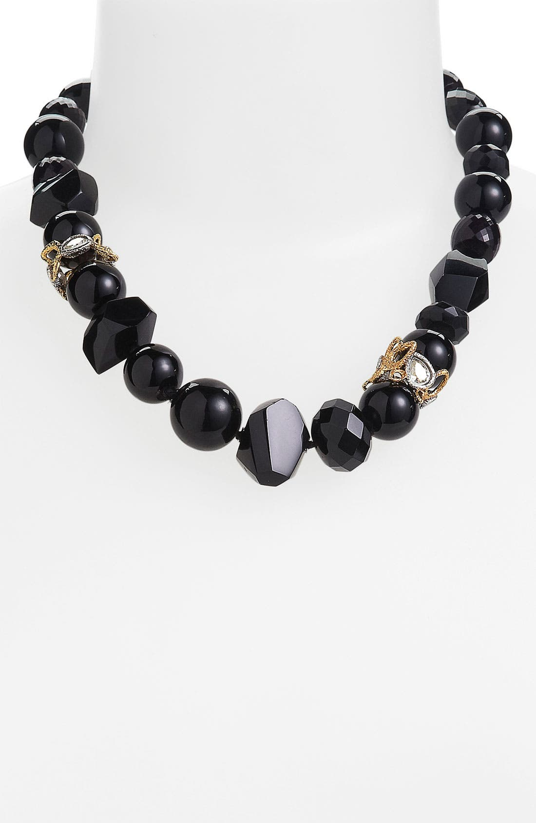 'Elements - Siyabona' Stone Necklace,                             Main thumbnail 1, color,                             001