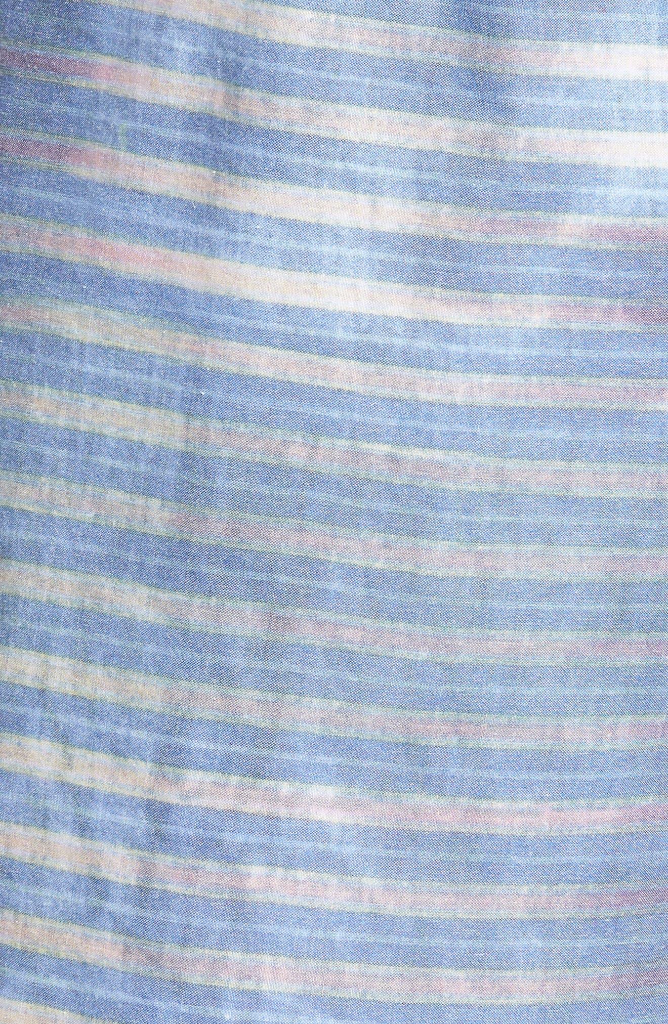Boppa Stripe Swim Trunks,                             Alternate thumbnail 5, color,                             402