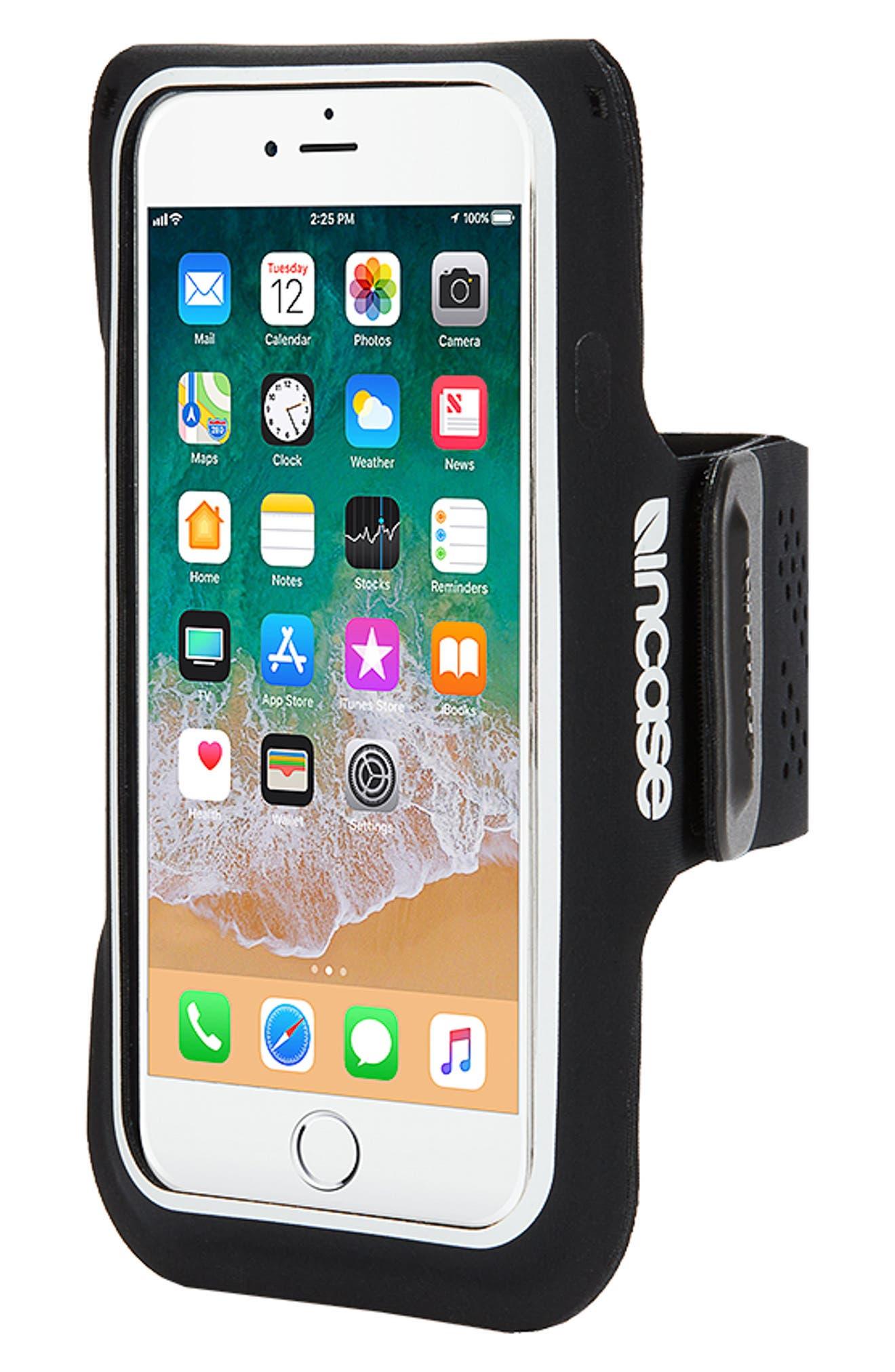 iPhone 7/8 Plus Active Armband,                             Alternate thumbnail 2, color,                             BLACK
