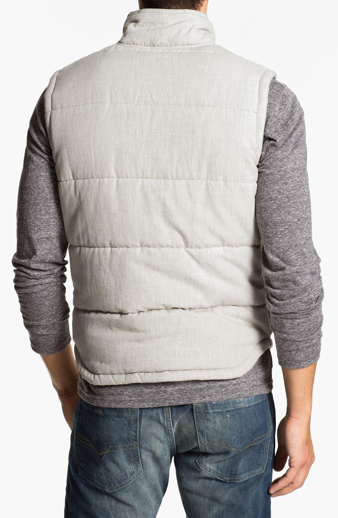 Quilted Cotton Vest,                             Alternate thumbnail 6, color,