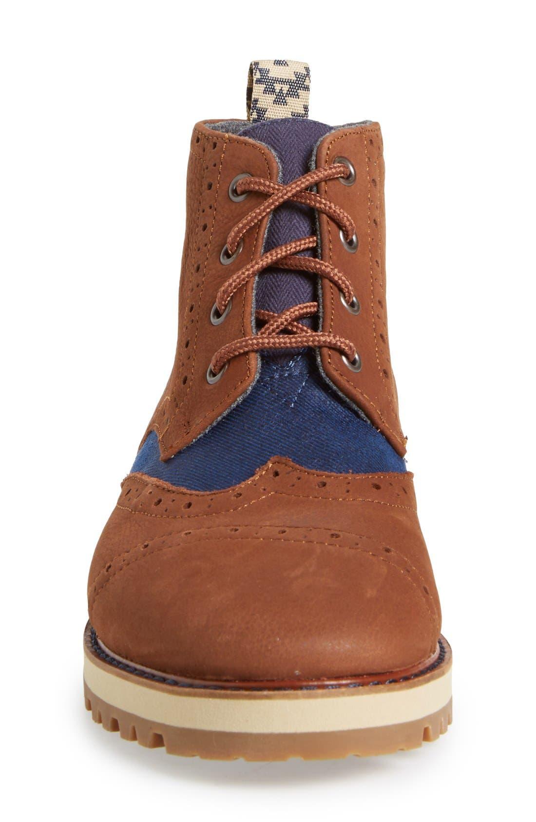 'Brogue' Boot,                             Alternate thumbnail 2, color,                             200