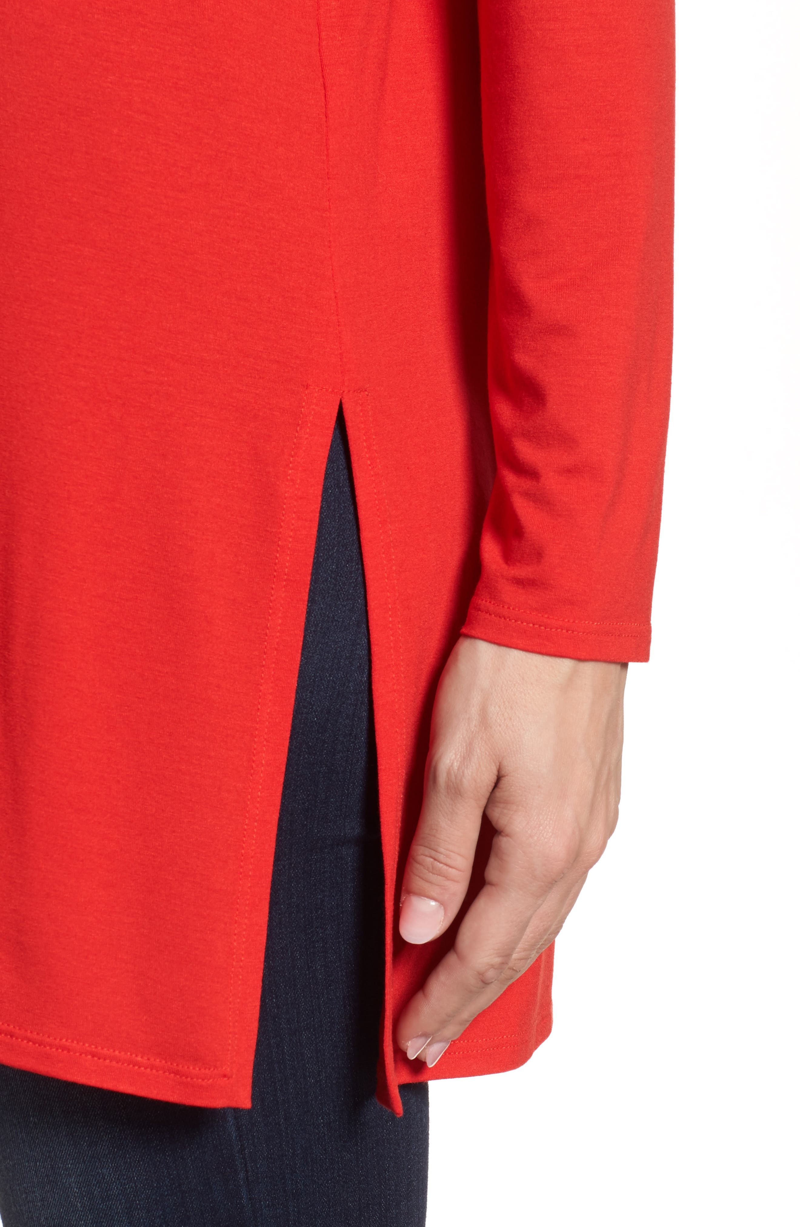 Jersey Tunic,                             Alternate thumbnail 8, color,