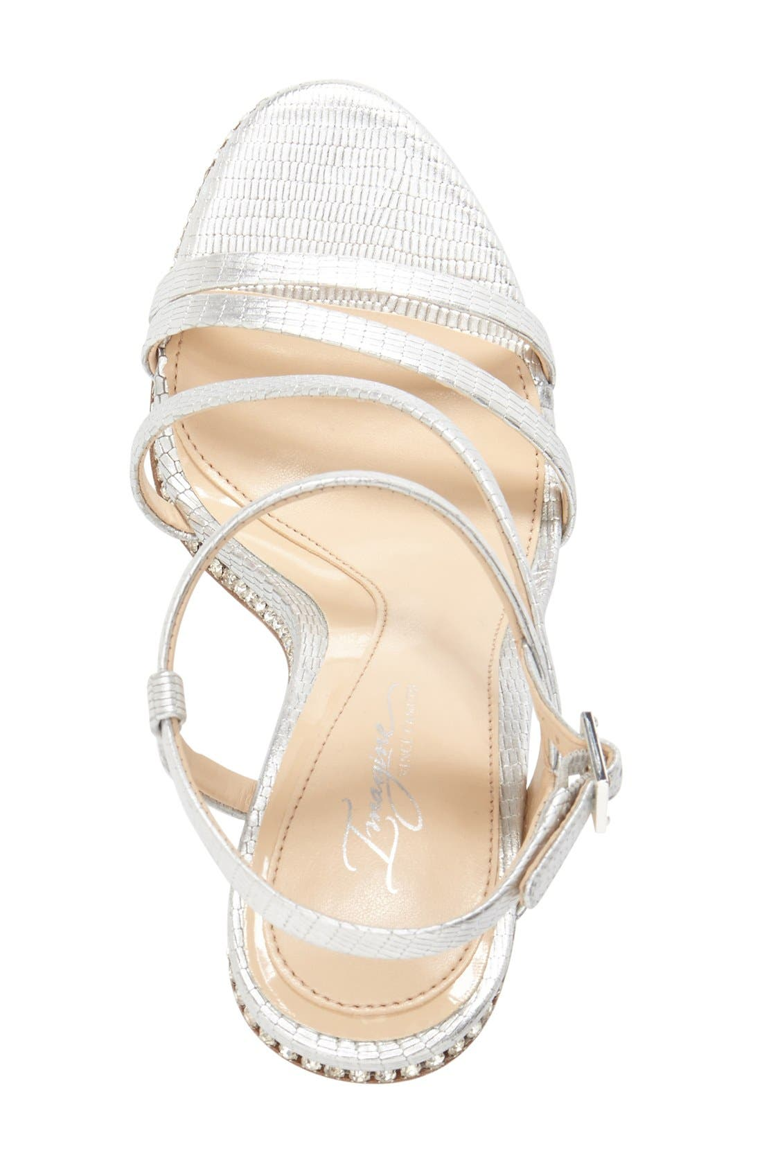 Imagine Vince Camuto 'Gian' Strappy Sandal,                             Alternate thumbnail 6, color,