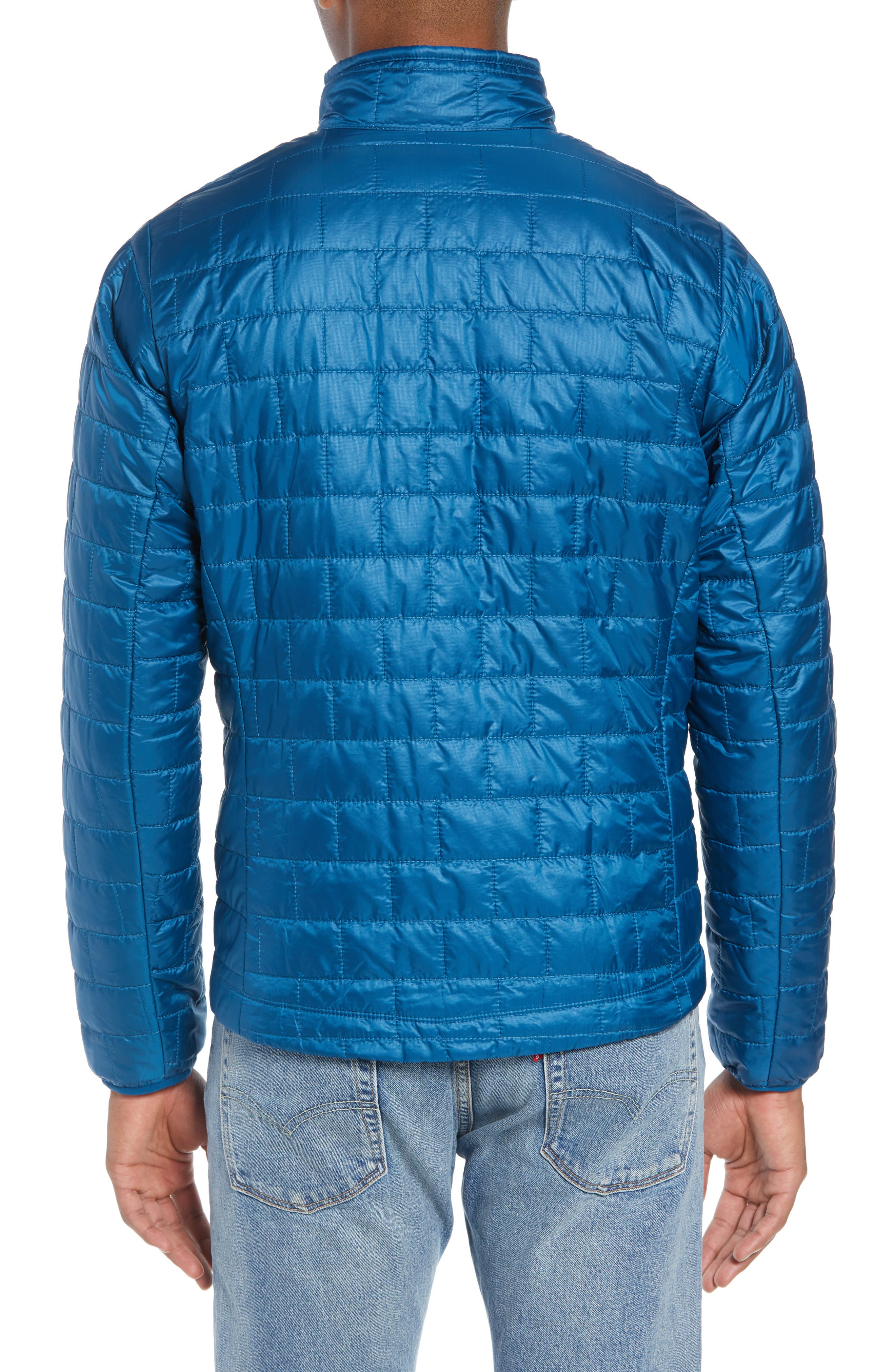 PATAGONIA,                             'Nano Puff<sup>®</sup>' Water Resistant Jacket,                             Alternate thumbnail 2, color,                             BIG SUR BLUE W/ BALKAN BLUE