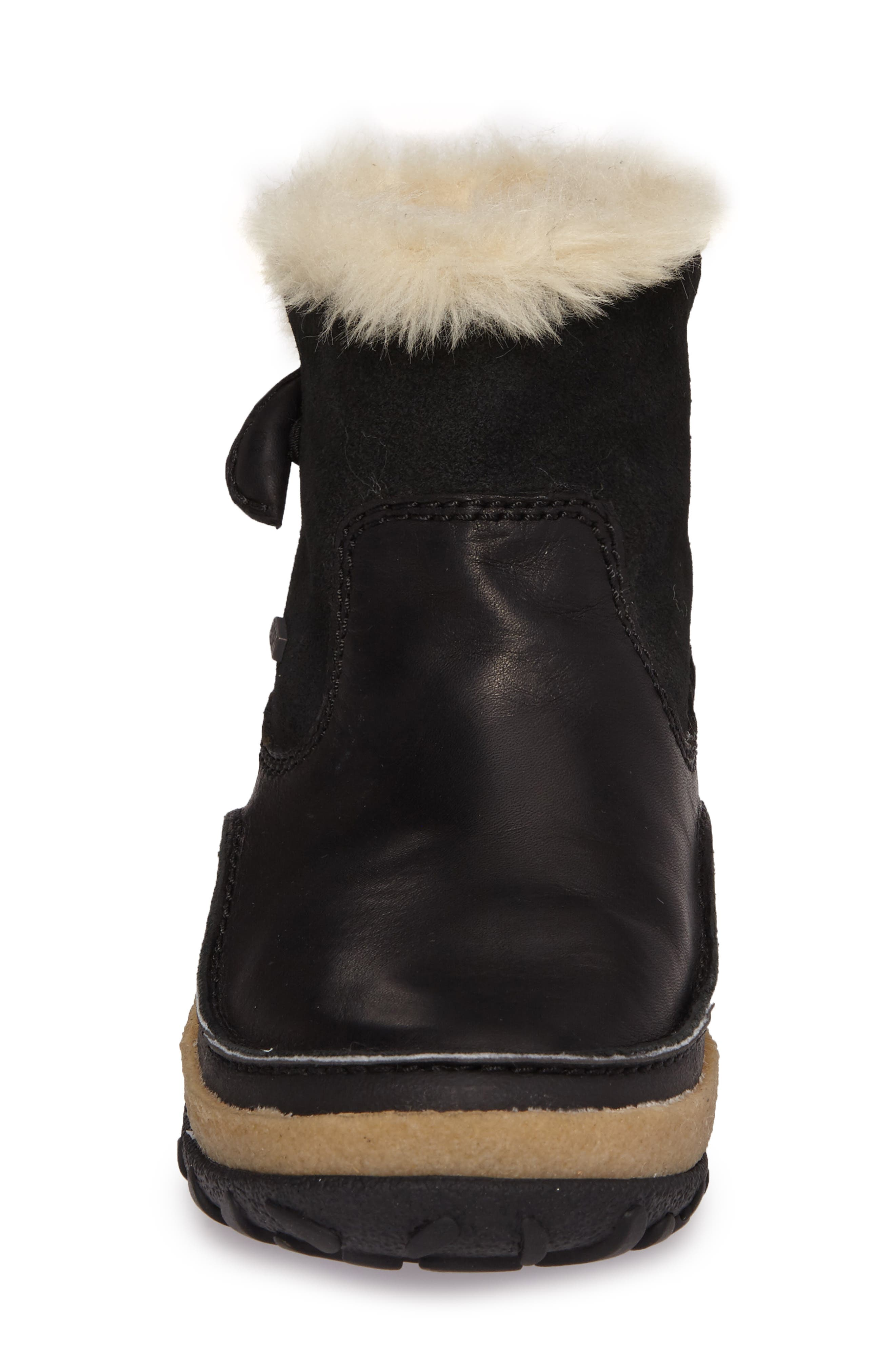Tremblant Pull-On Polar Waterproof Bootie,                             Alternate thumbnail 4, color,                             001