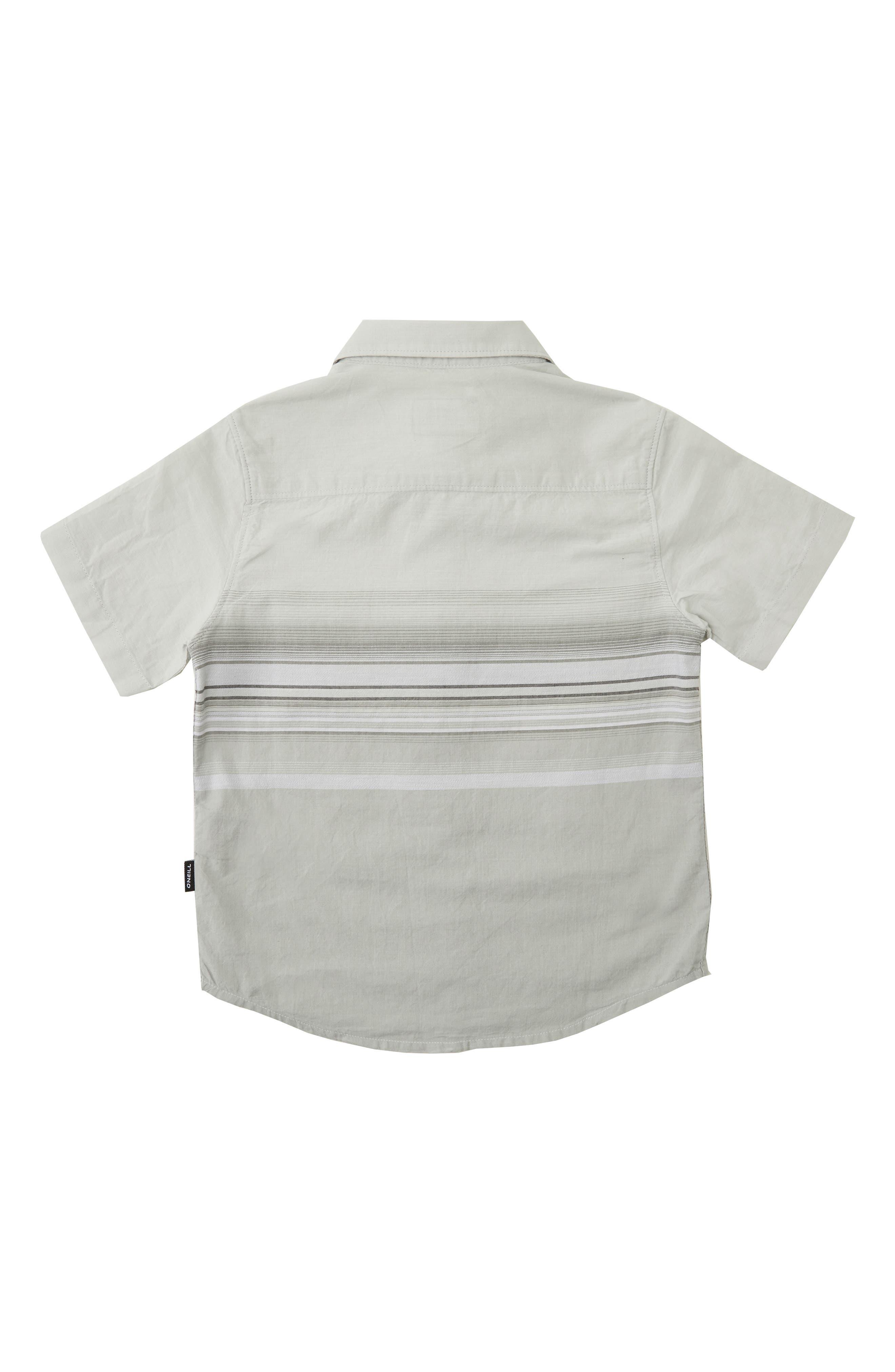 O'NEILL,                             Letting Go Woven Shirt,                             Alternate thumbnail 2, color,                             LIGHT GREY