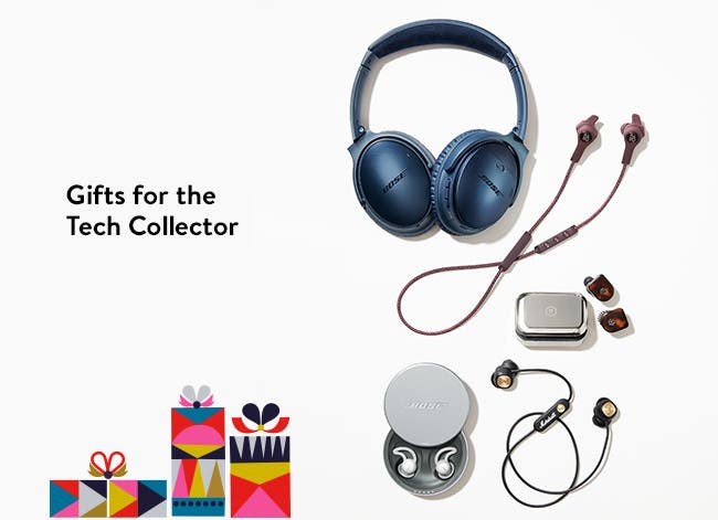 Gifts for the tech collector.