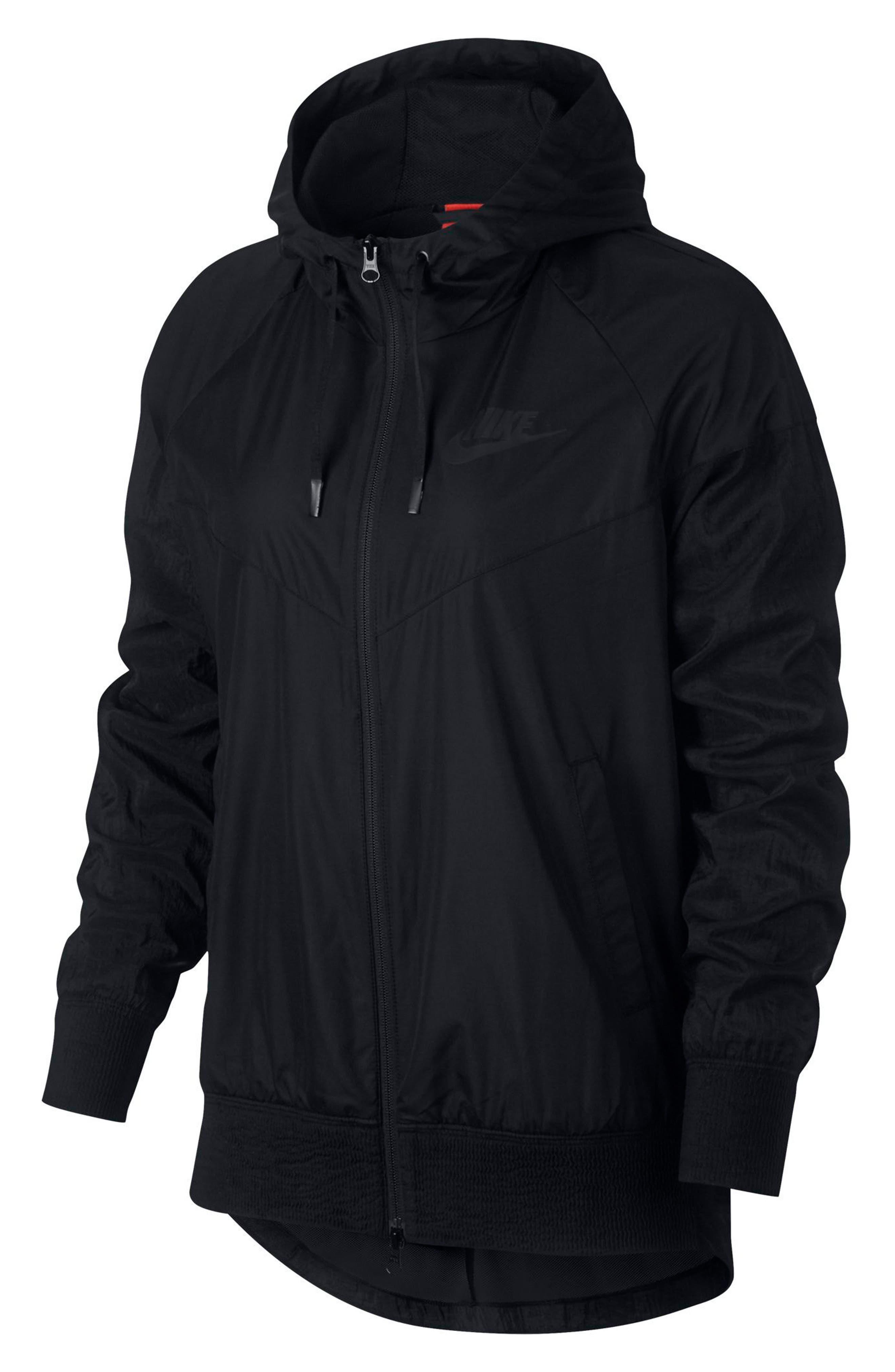 Sportswear Women's Windrunner Water Repellent Jacket,                             Main thumbnail 1, color,                             010