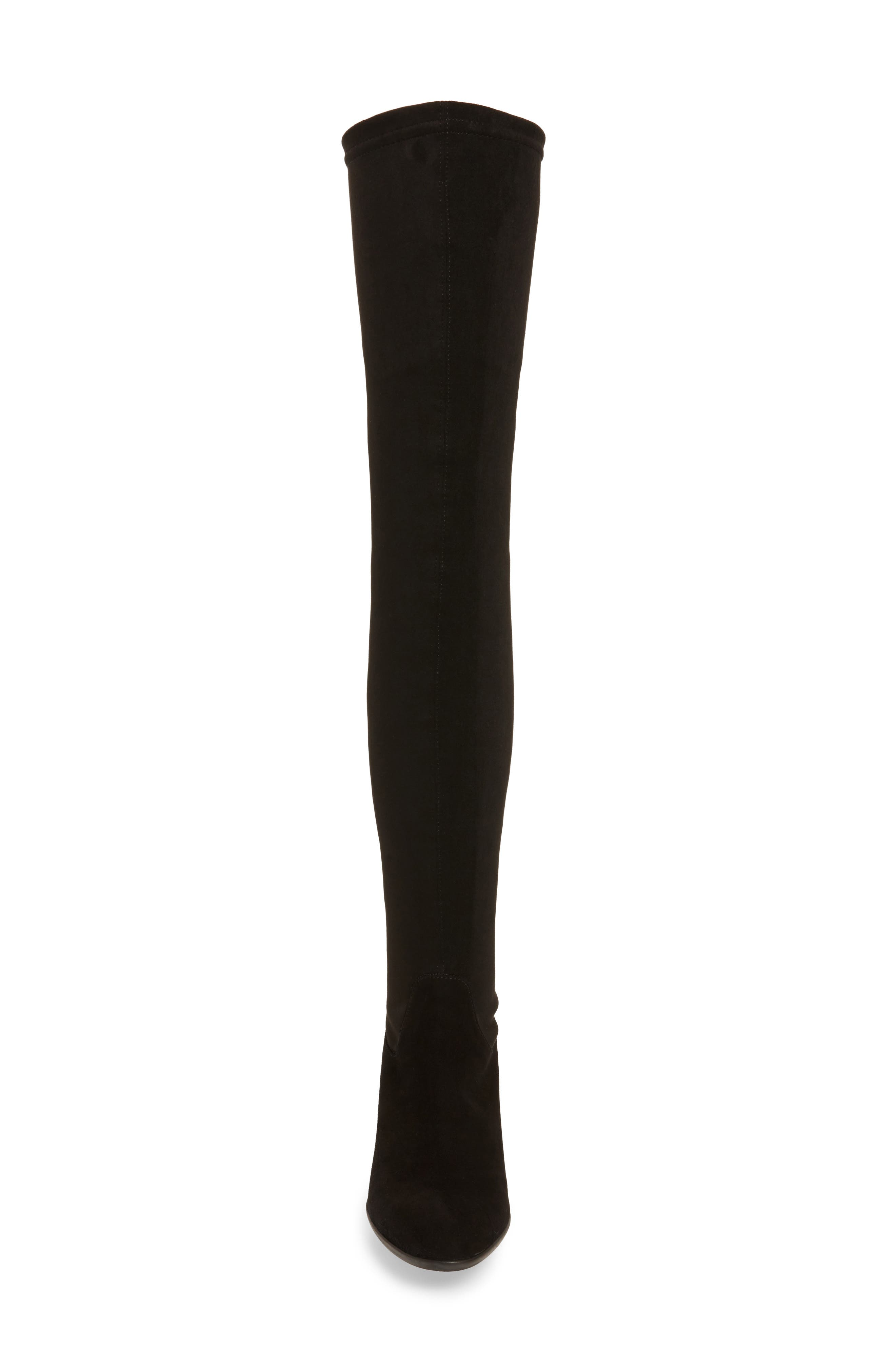 Verve Over the Knee Boot,                             Alternate thumbnail 4, color,                             001