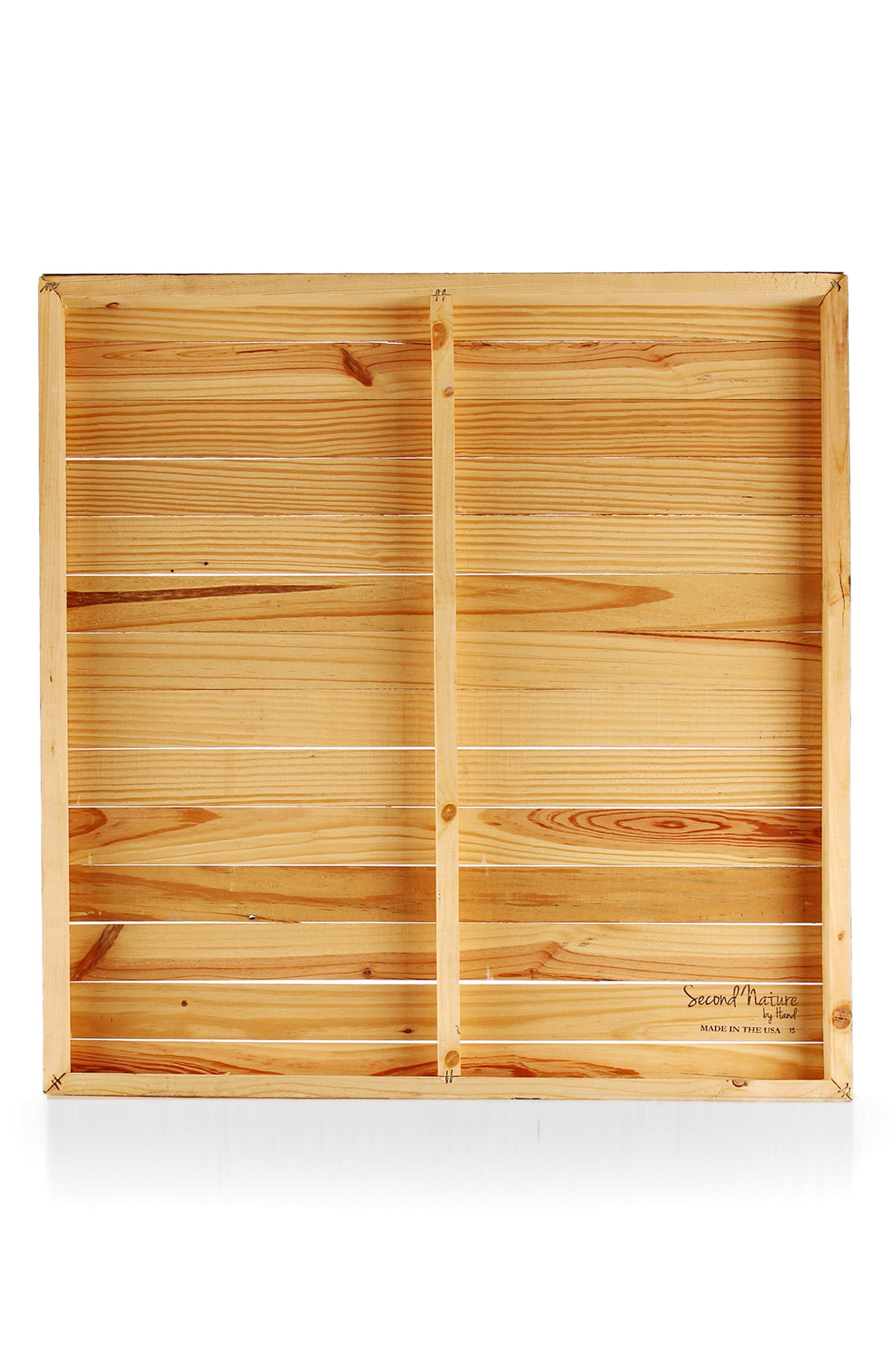 Love Story Repurposed Wood Wall Art,                             Alternate thumbnail 2, color,                             BROWN