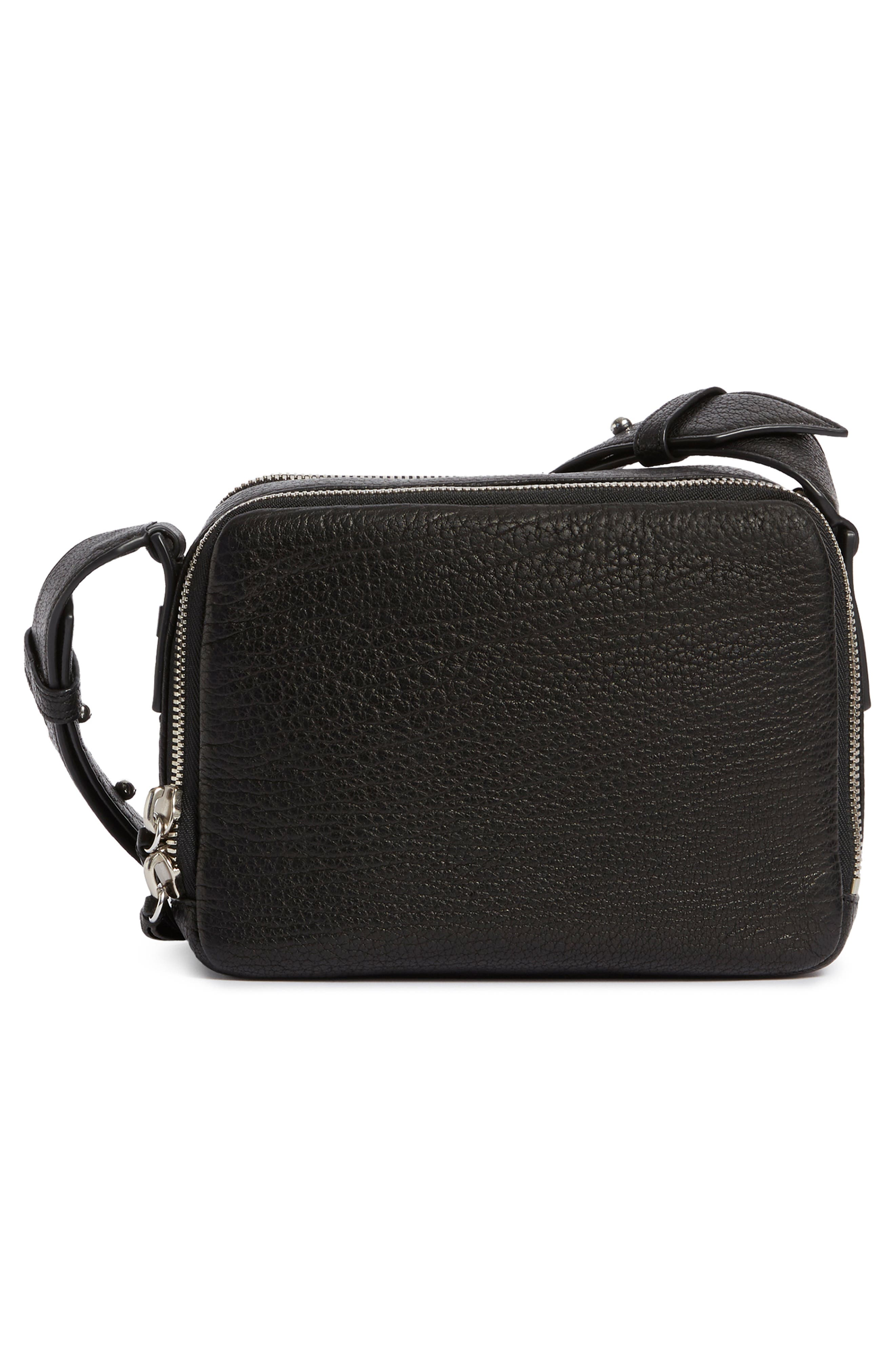 Vincent Leather Crossbody Bag,                             Alternate thumbnail 2, color,                             001