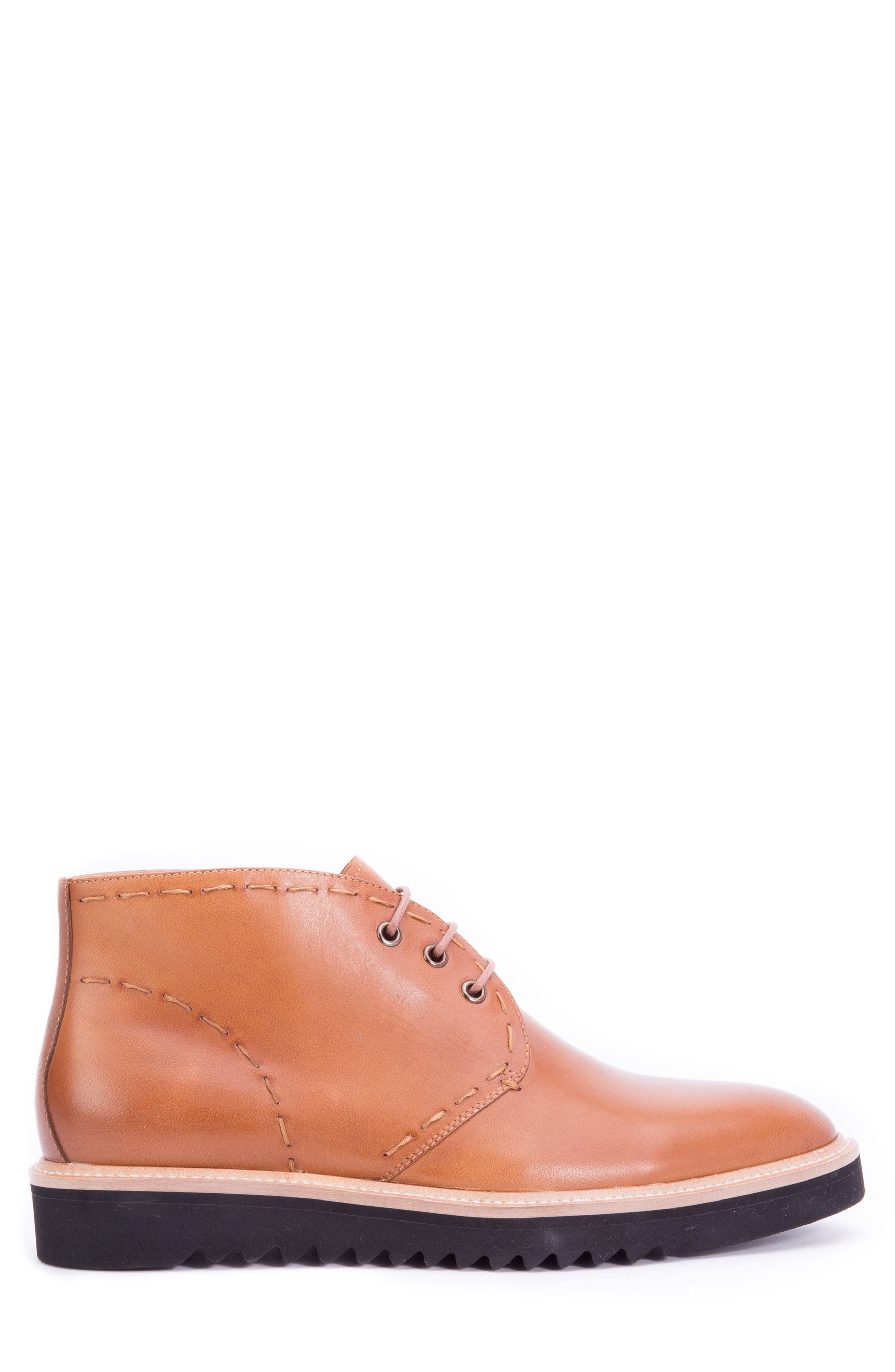 Lombardo Chukka Boot,                             Alternate thumbnail 3, color,                             COGNAC LEATHER