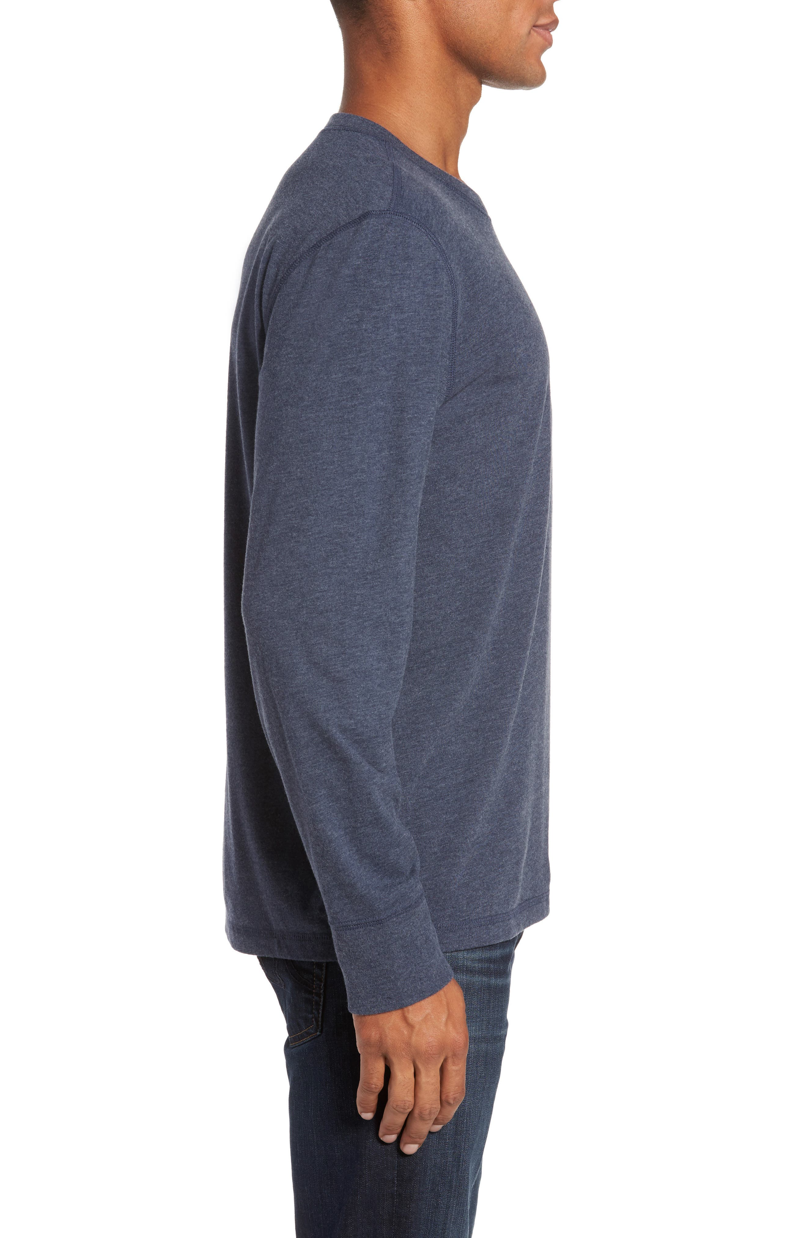 Notch Long Sleeve T-Shirt,                             Alternate thumbnail 6, color,