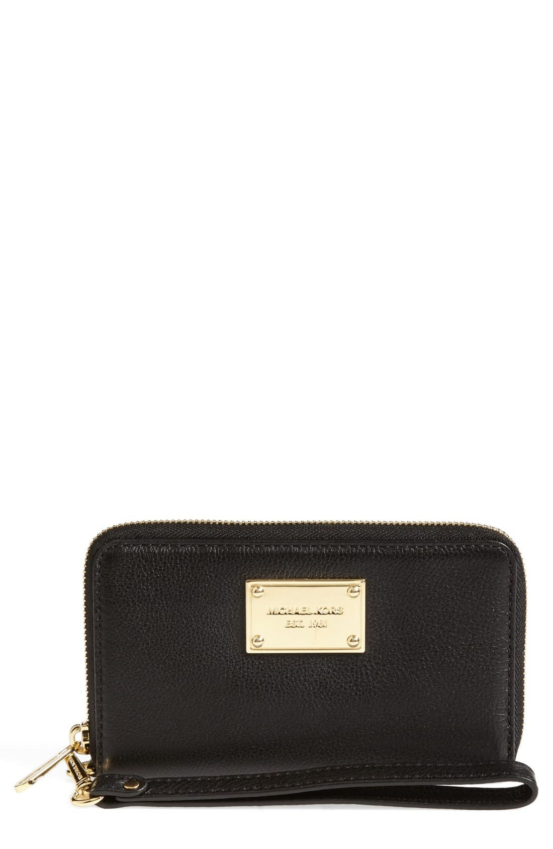 Large Multifunction Phone Wallet, Main, color, 001