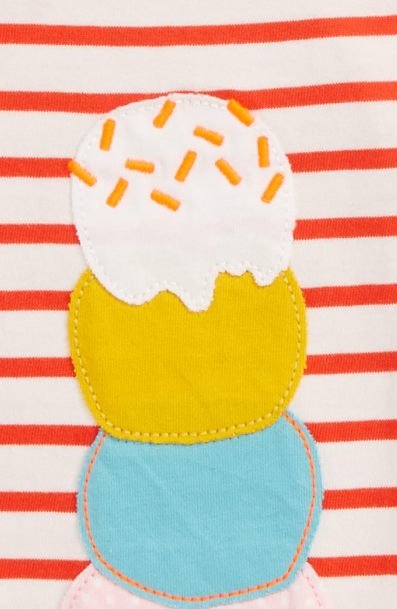 Stripe Ice Cream Tee,                             Alternate thumbnail 2, color,