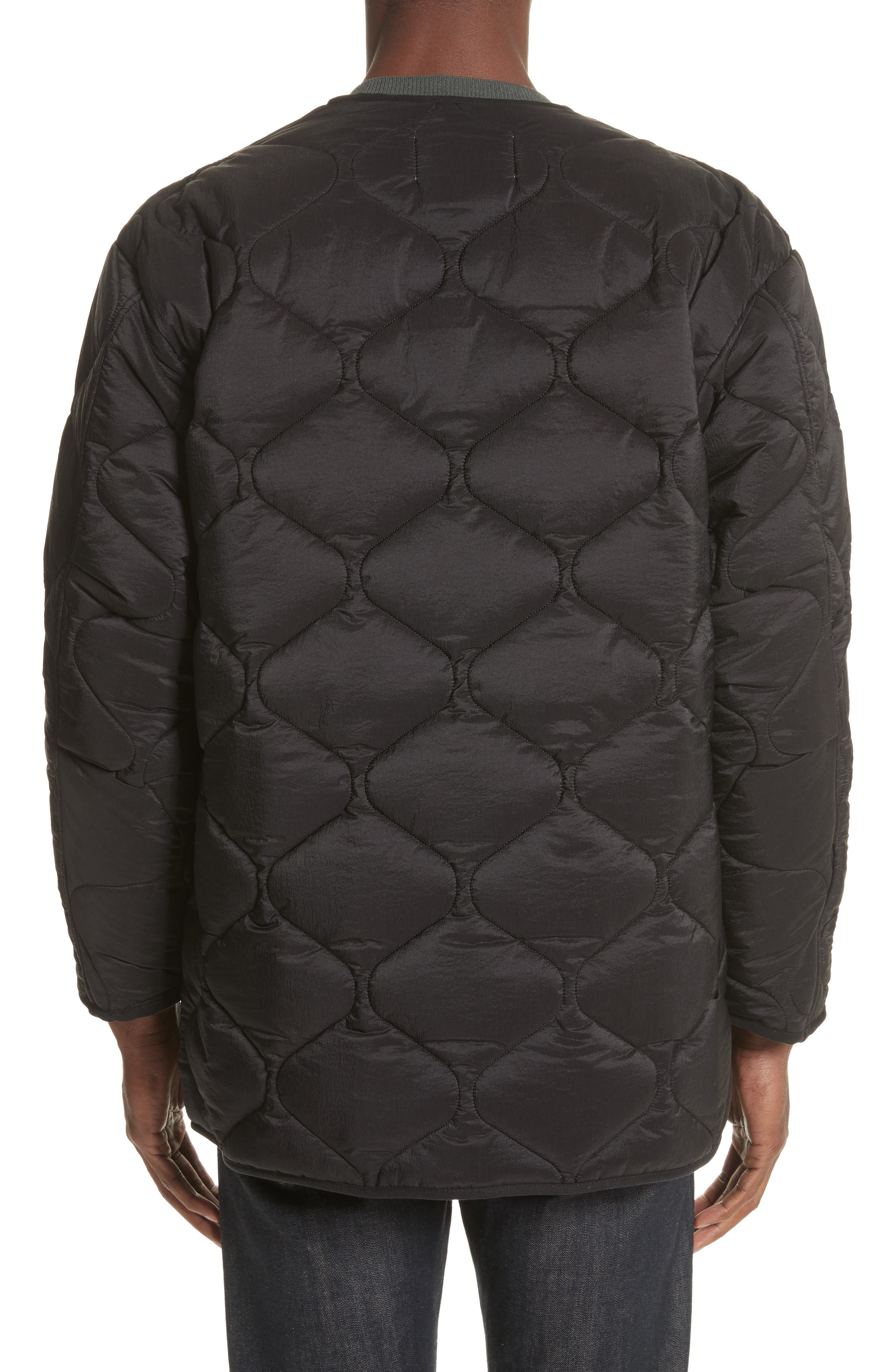 Quilted Liner Parachute Jacket,                             Alternate thumbnail 2, color,                             001