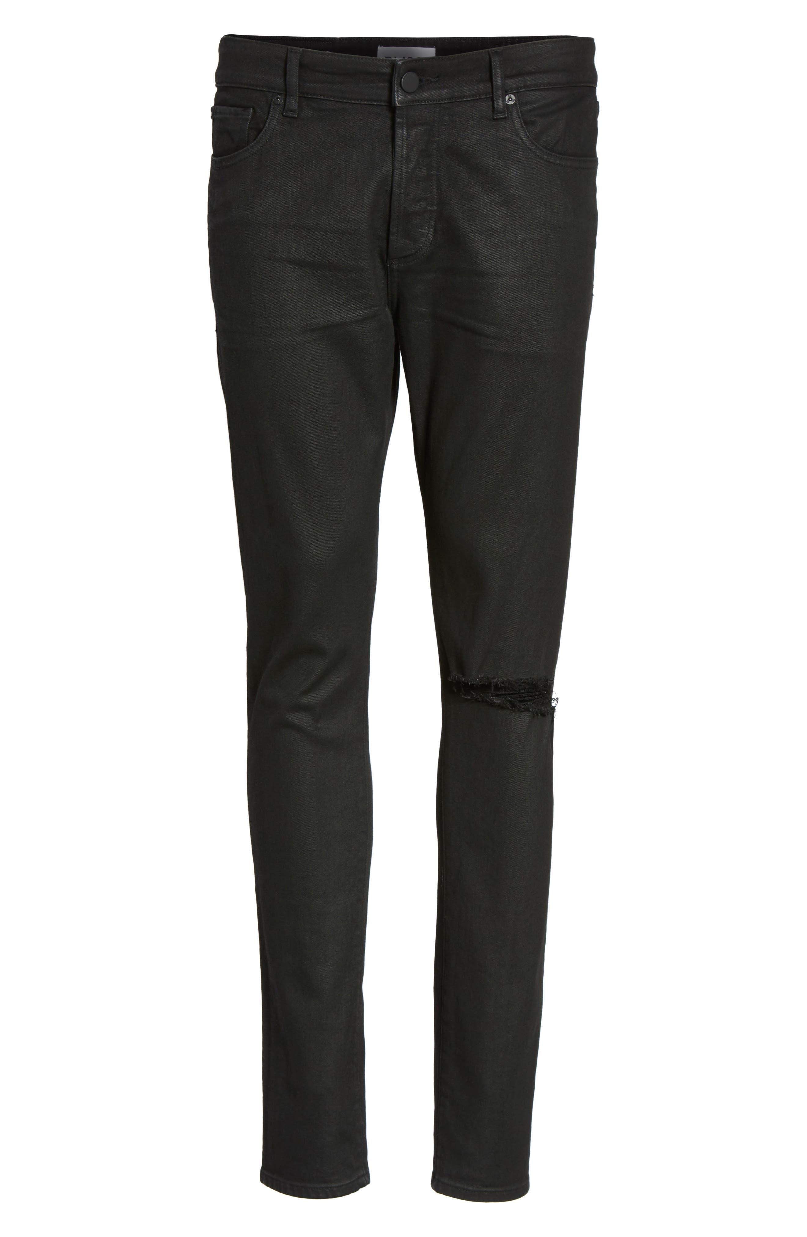 Hunter Skinny Jeans,                             Alternate thumbnail 6, color,                             VICE