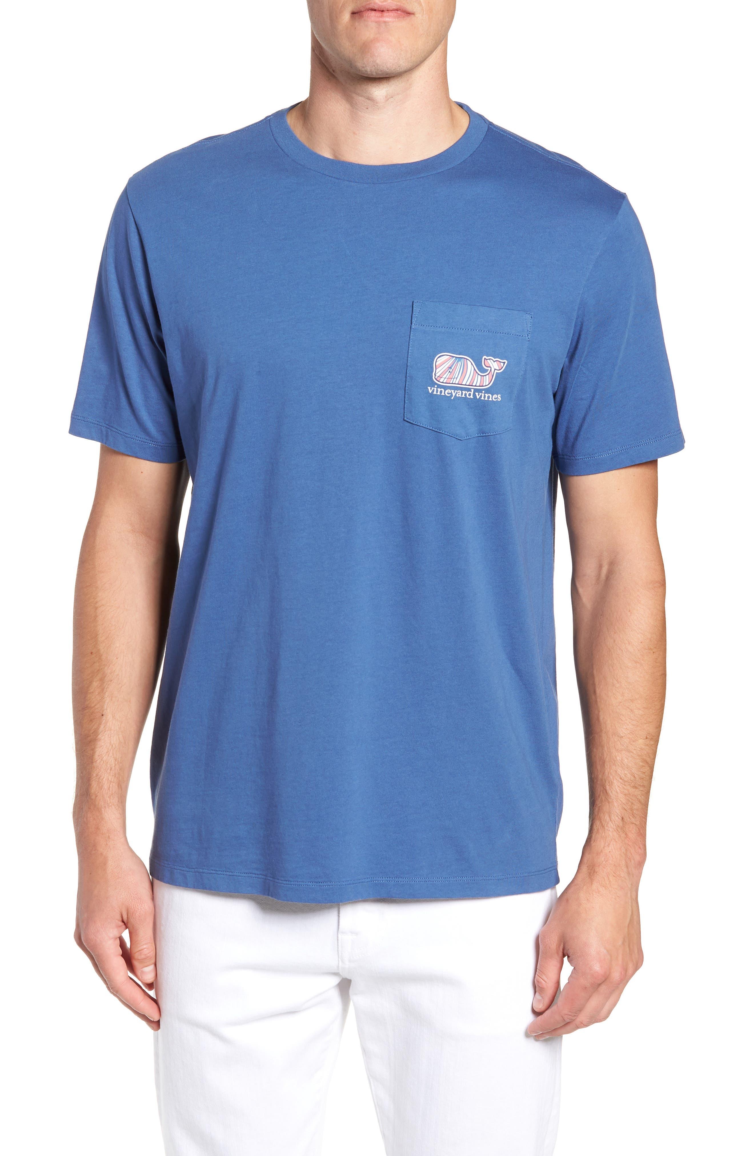 Mermaids Whale Fill Graphic Pocket T-Shirt,                             Main thumbnail 1, color,