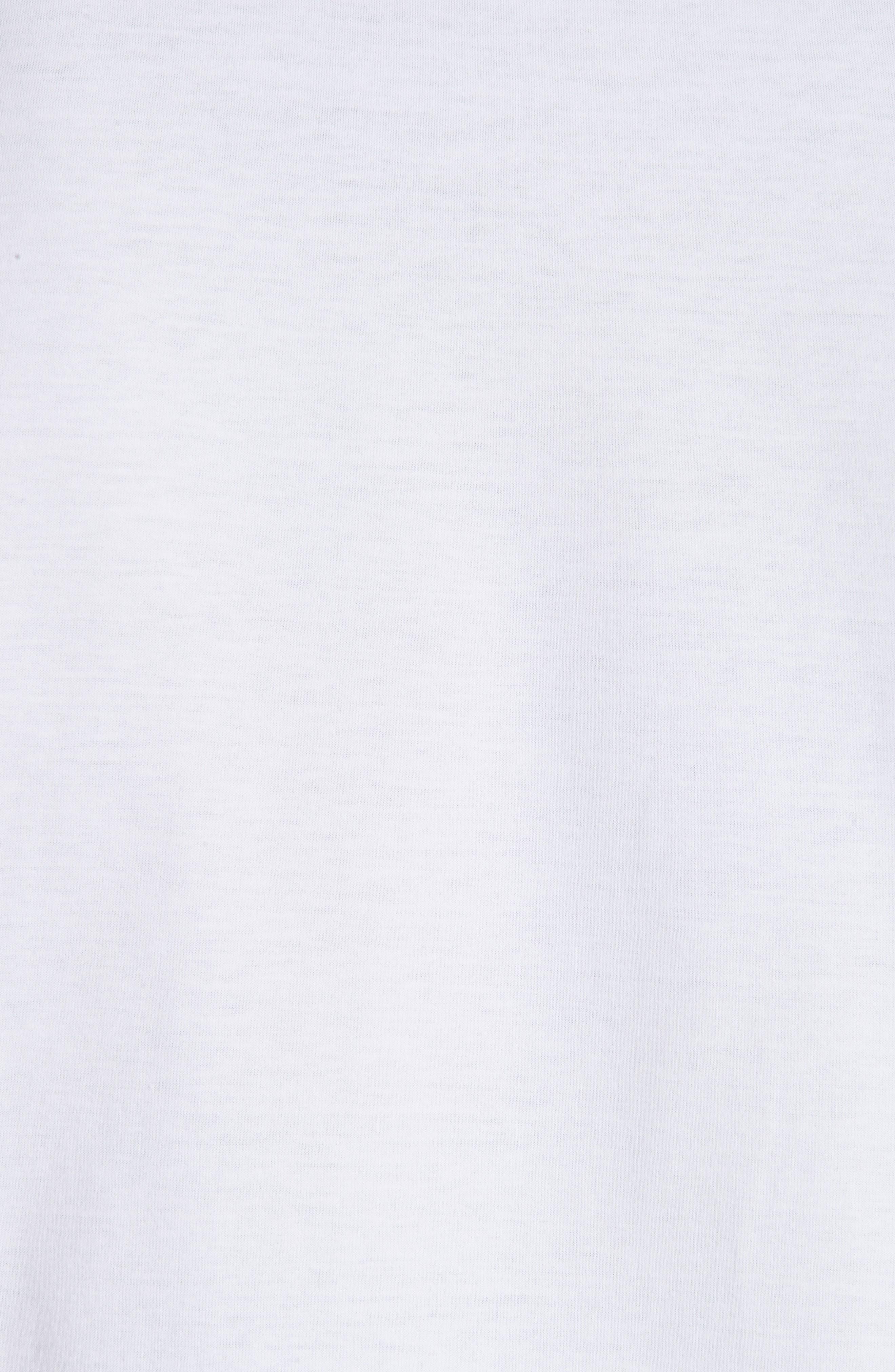 Old English Font T-Shirt,                             Alternate thumbnail 5, color,                             WHITE
