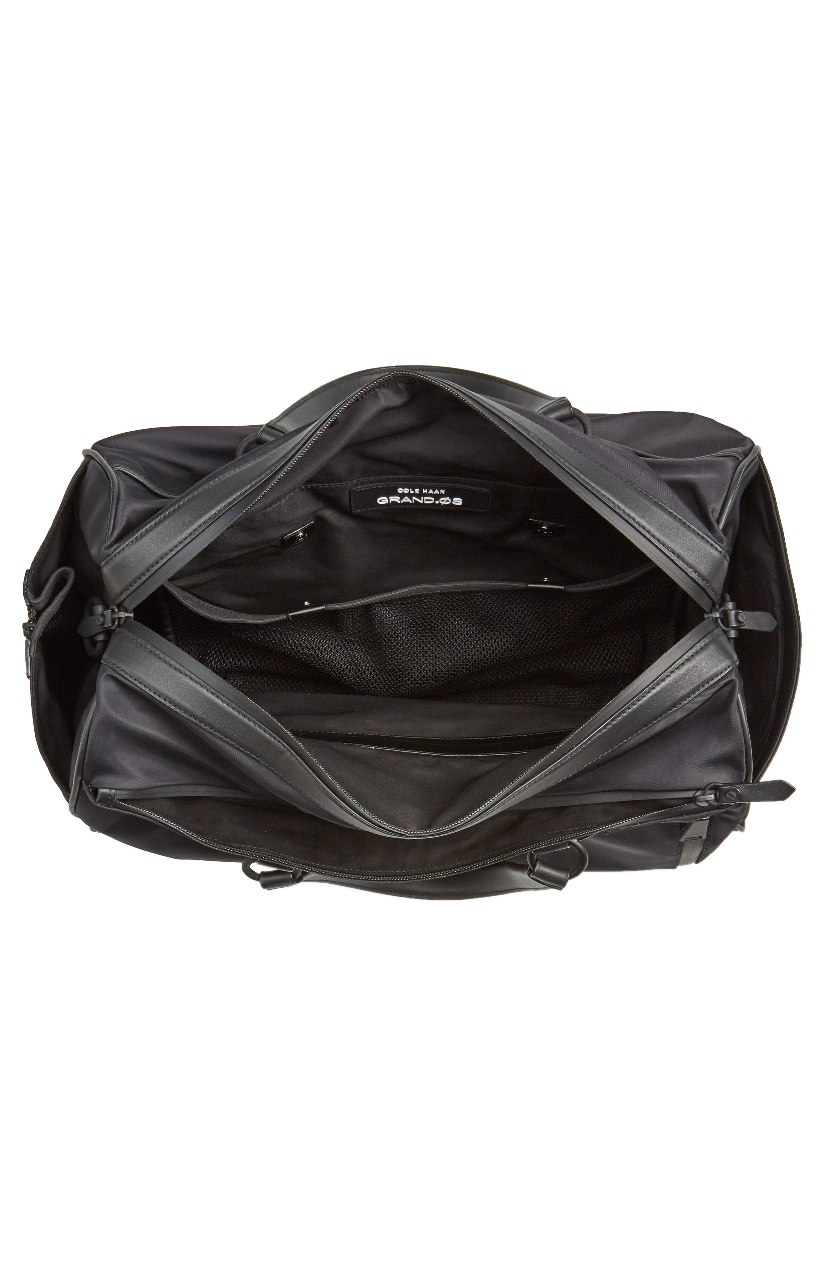 Everyday Nylon Duffel Bag,                             Alternate thumbnail 4, color,                             001