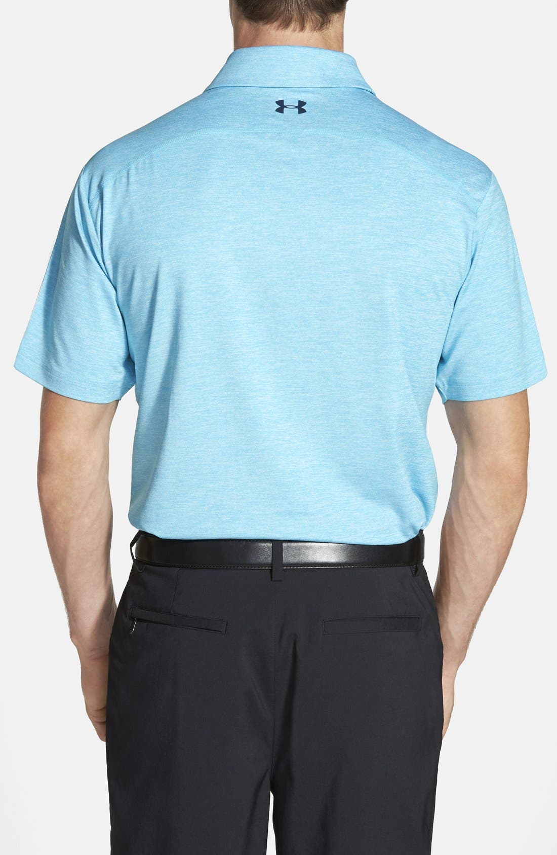 'Playoff' Loose Fit Short Sleeve Polo,                             Alternate thumbnail 155, color,