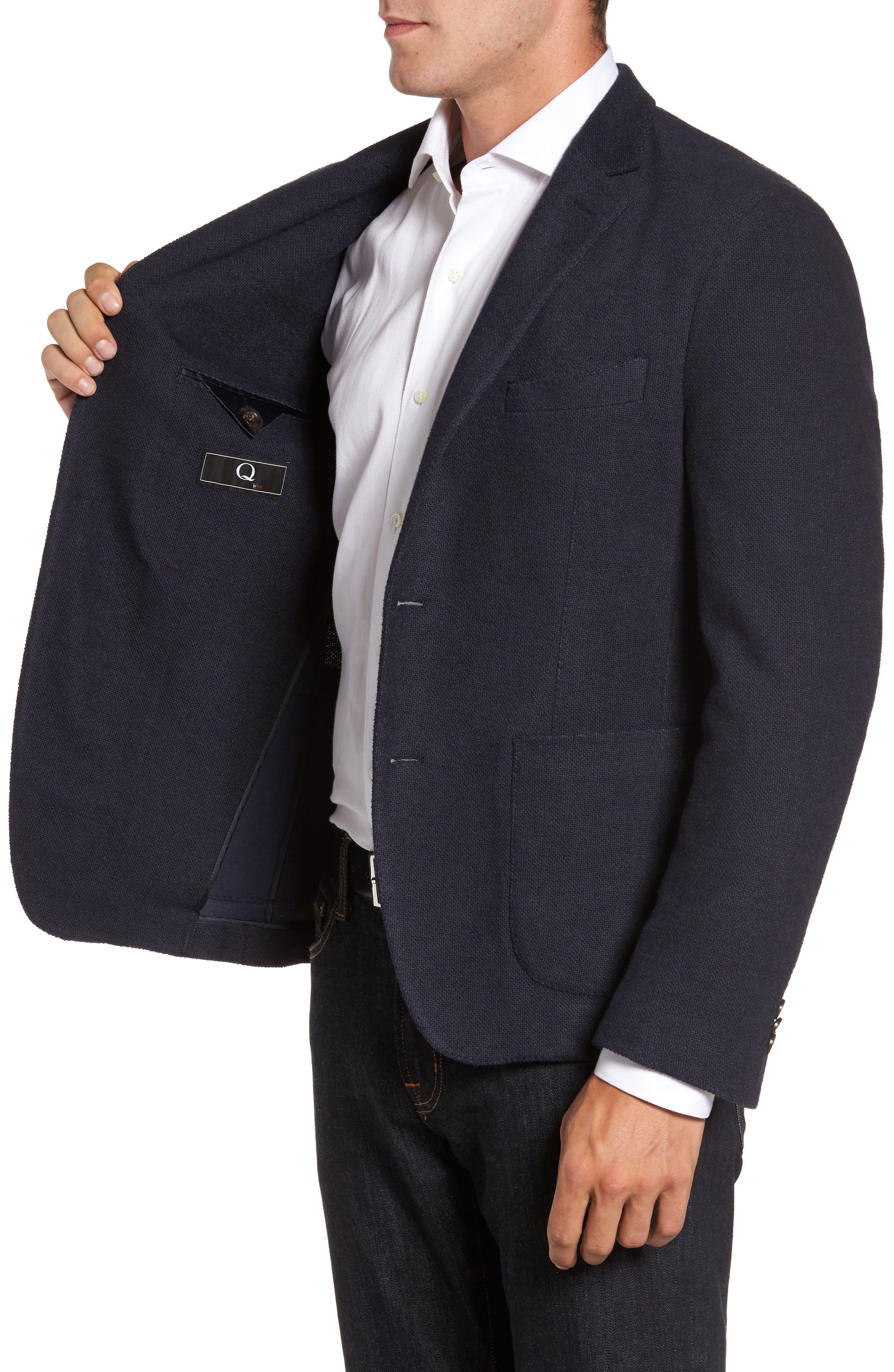 Classic Fit Cotton Blend Jersey Sport Coat,                             Alternate thumbnail 3, color,                             410