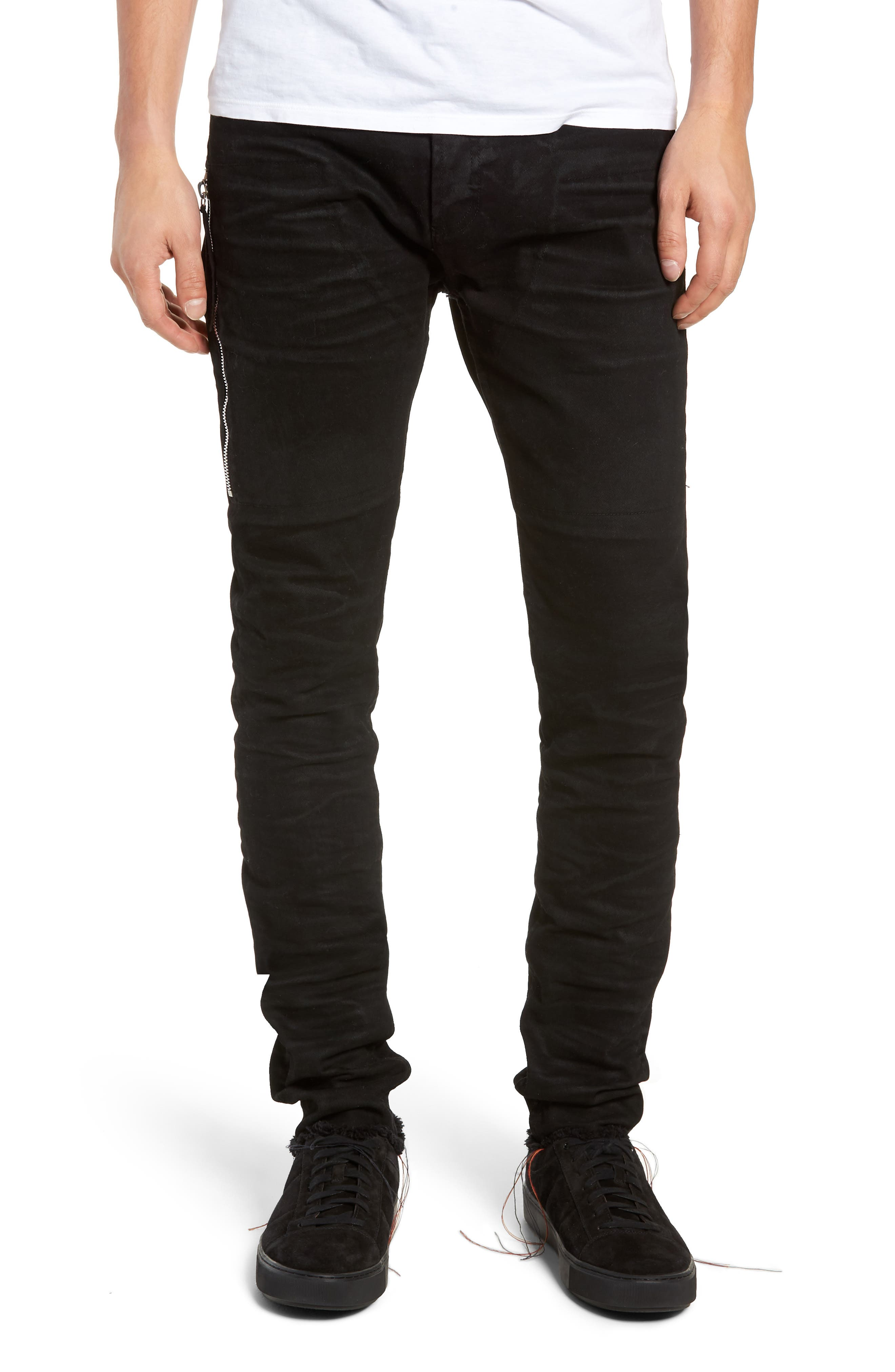 Trafford Skinny Fit Jeans,                             Main thumbnail 1, color,                             HERITAGE WAX