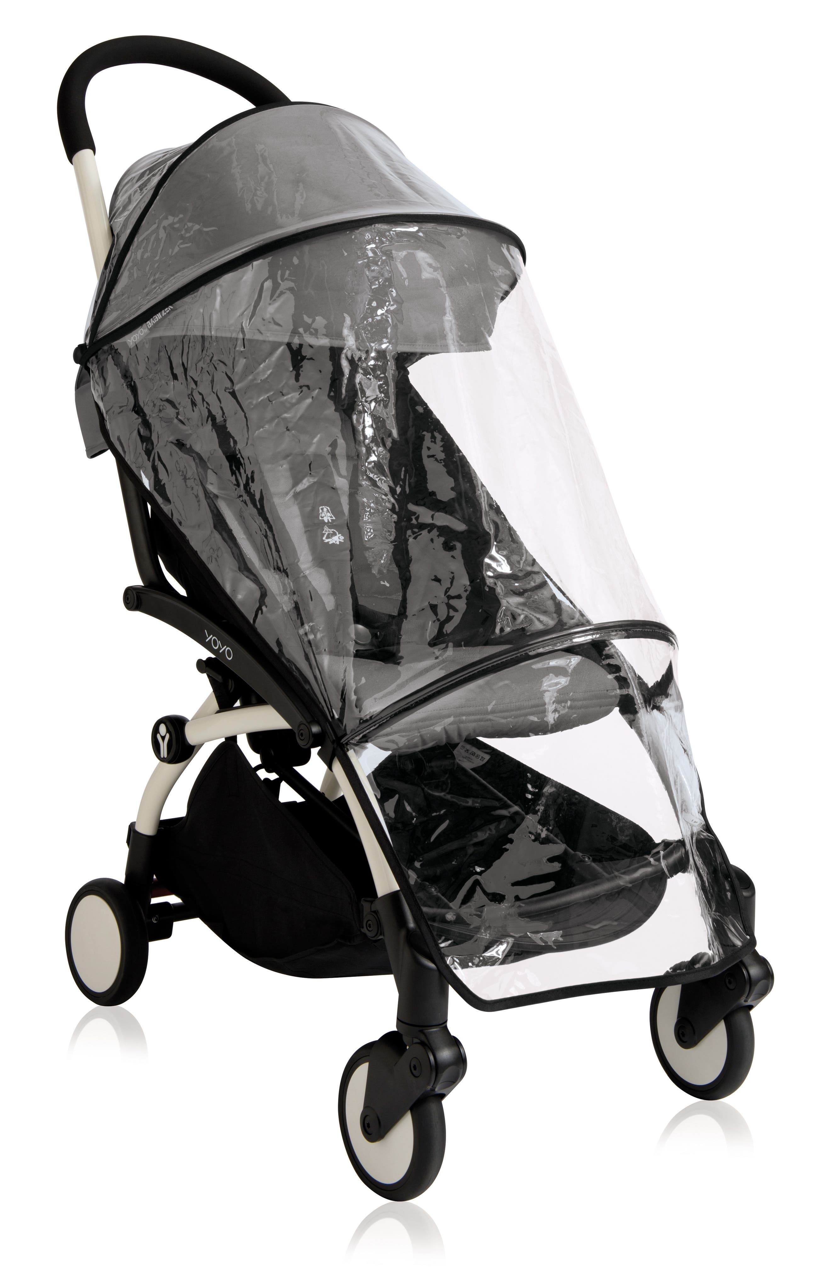 BABYZEN<SUP>™</SUP> Rain Cover for YOYO+ 6 Stroller, Main, color, CLEAR