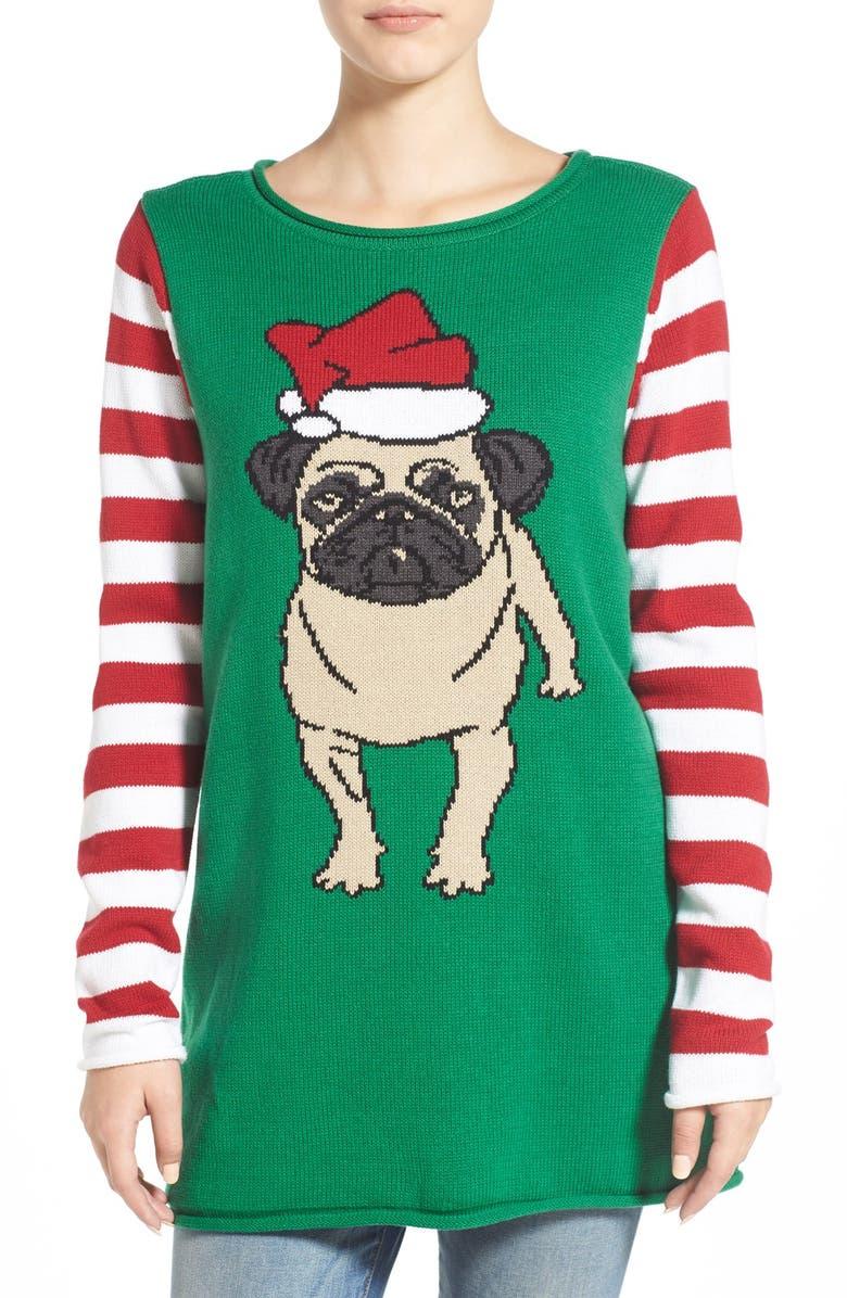 Ugly Christmas Sweater Pug Christmas Sweater | Nordstrom