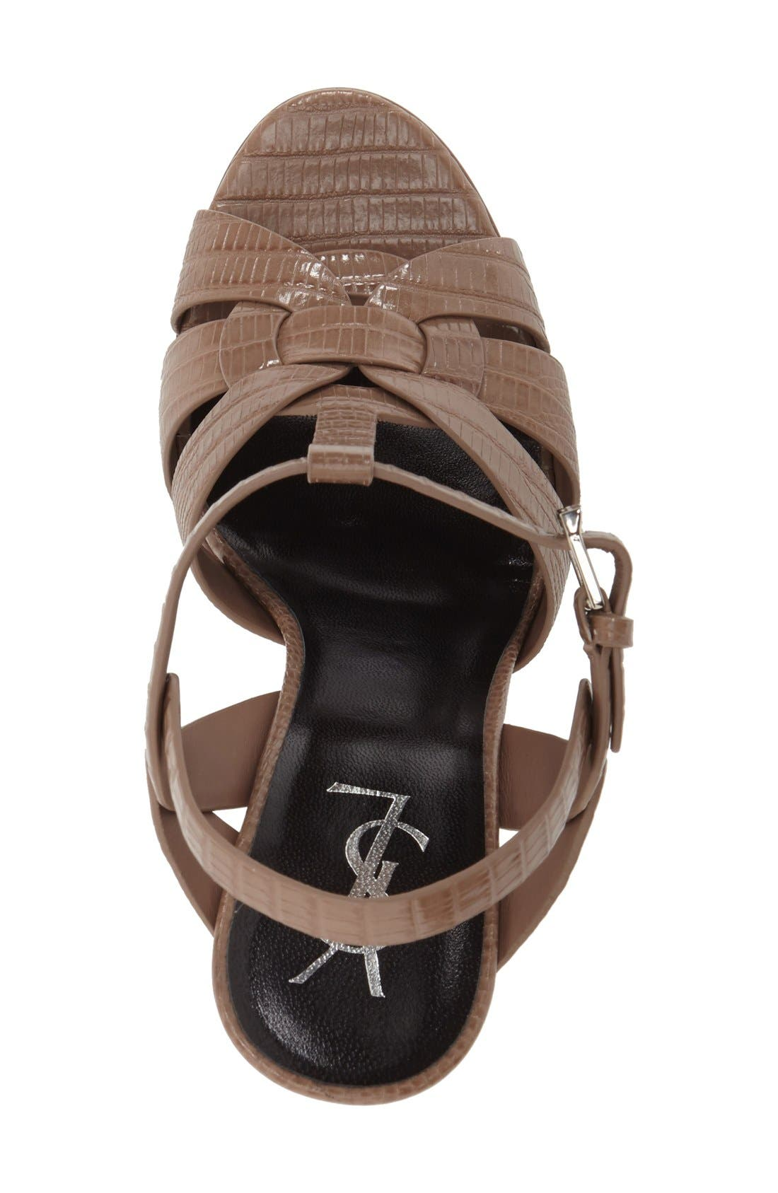 'Tribute' Sandal,                             Alternate thumbnail 5, color,                             250