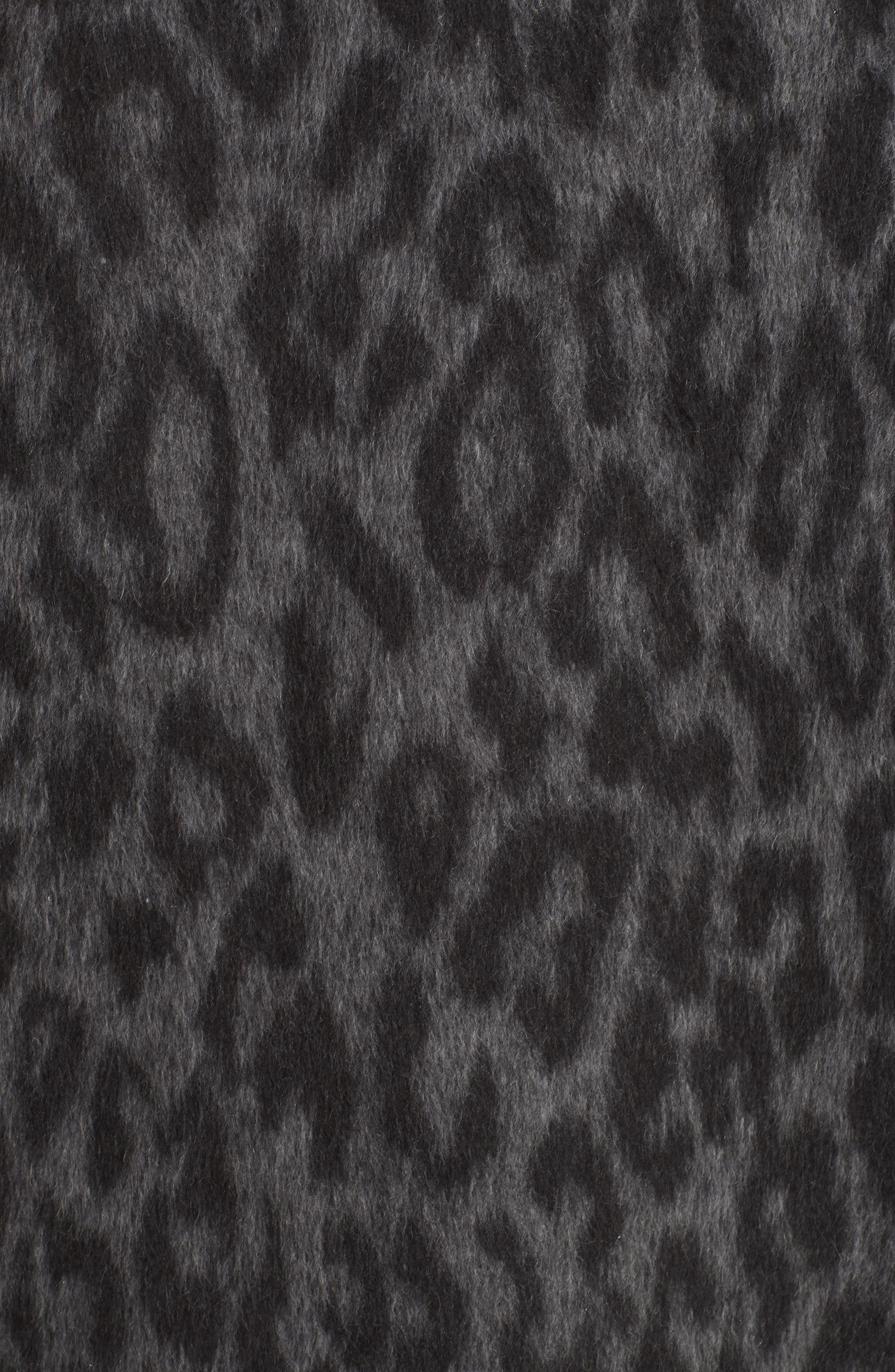 Faux Fur Kimono,                             Alternate thumbnail 7, color,                             FIORELLA L/ C