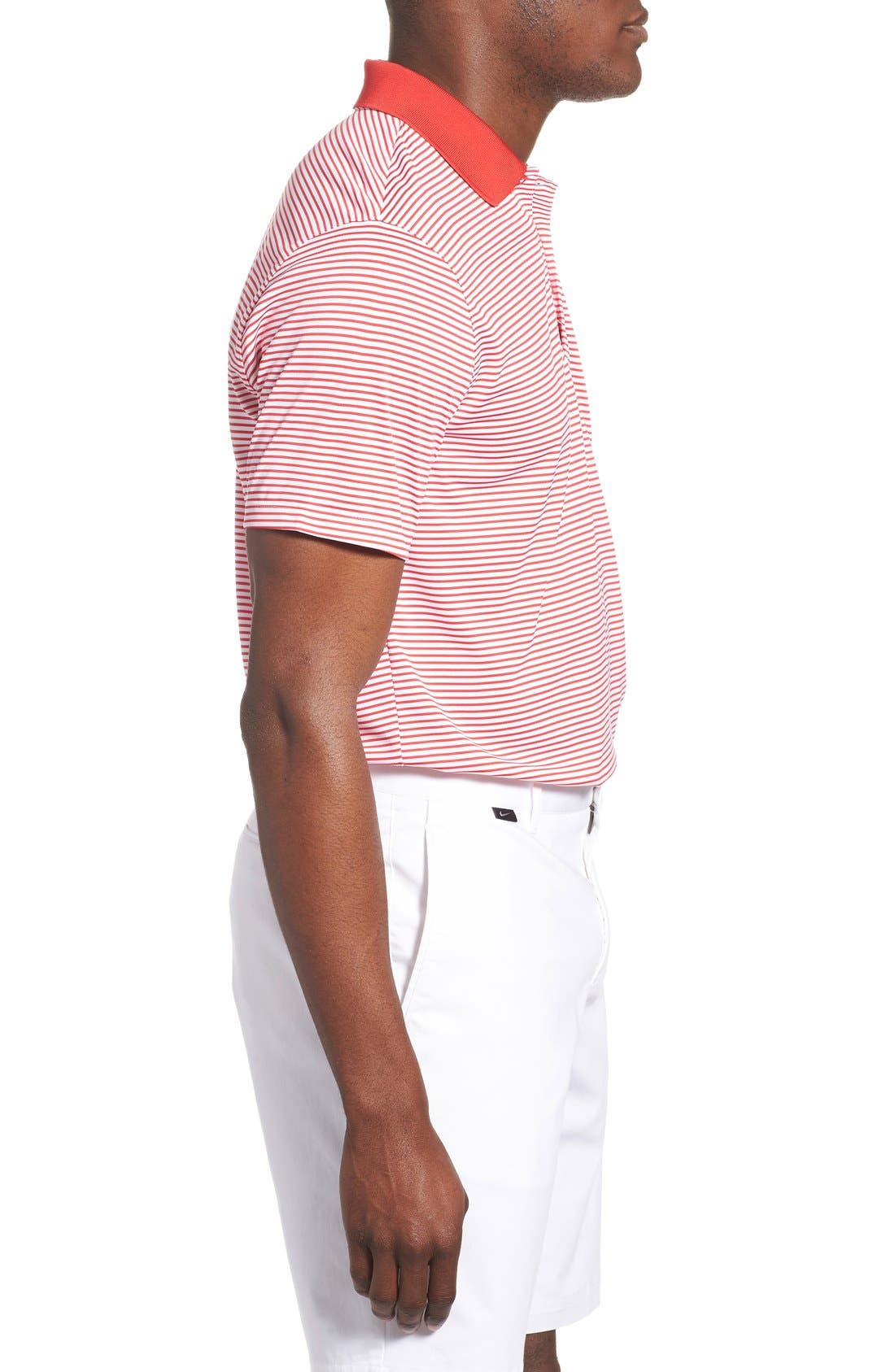 'Victory Stripe' Dri-FIT Golf Polo,                             Alternate thumbnail 22, color,
