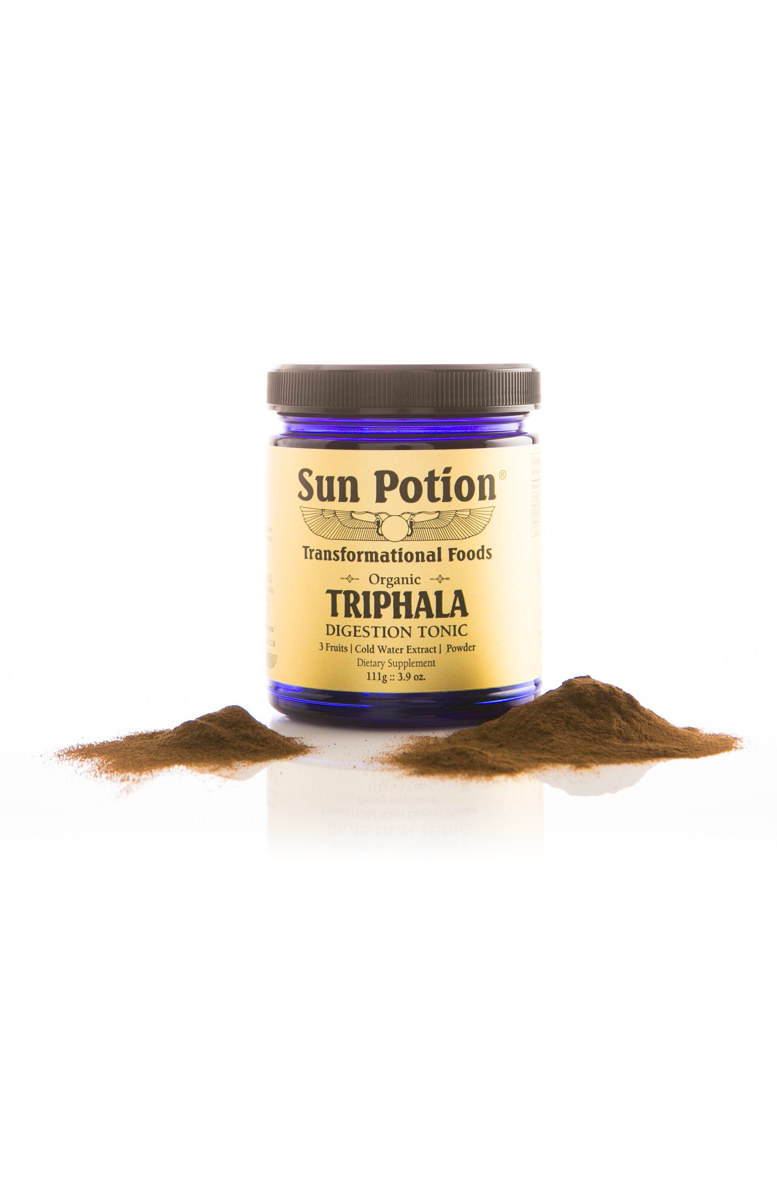 SUN POTION,                             Triphala Organic Cold Water Extract Powder Dietary Supplement,                             Alternate thumbnail 5, color,                             960