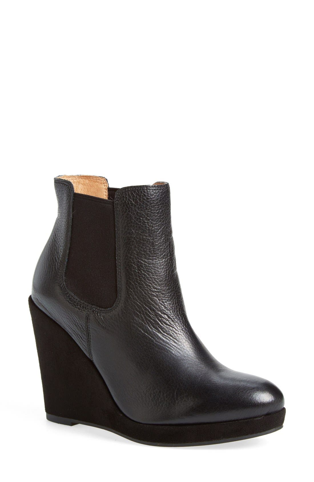 CORSO COMO,                             Corso Como 'Coast' Wedge Bootie,                             Main thumbnail 1, color,                             001