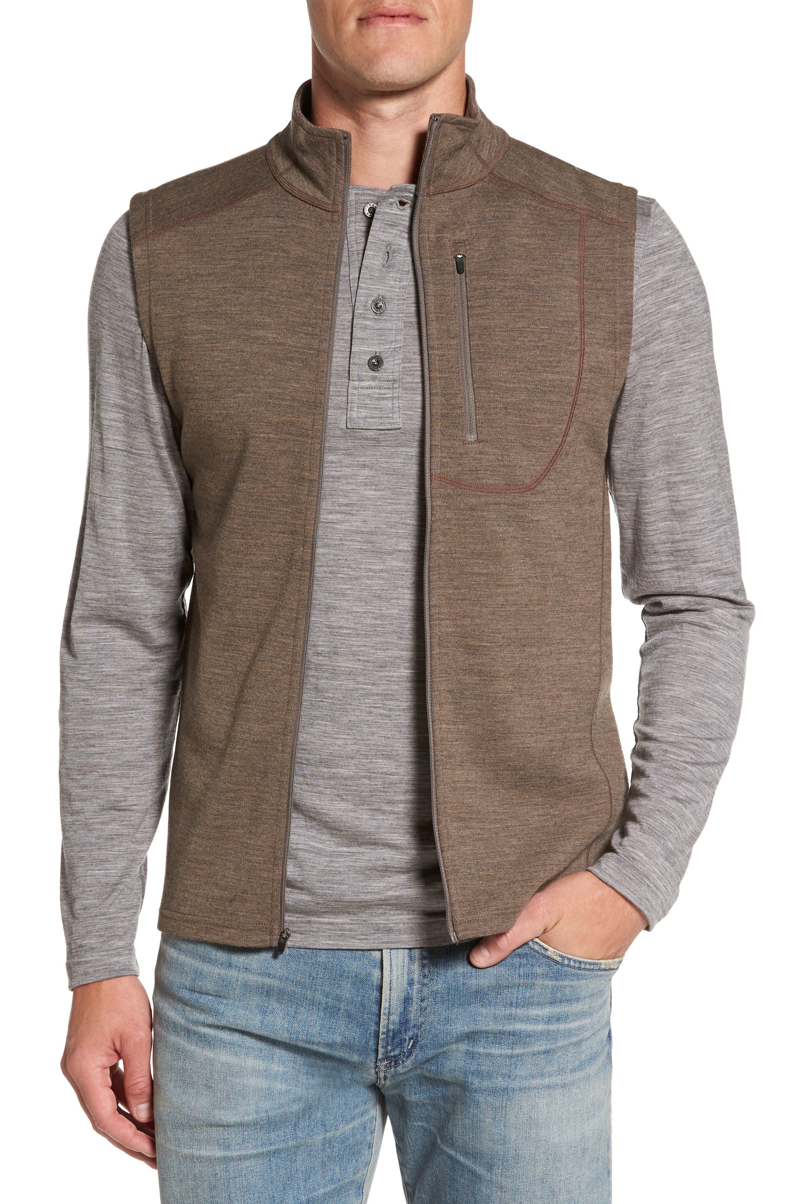 'Shak' Merino Wool Vest,                         Main,                         color, 250