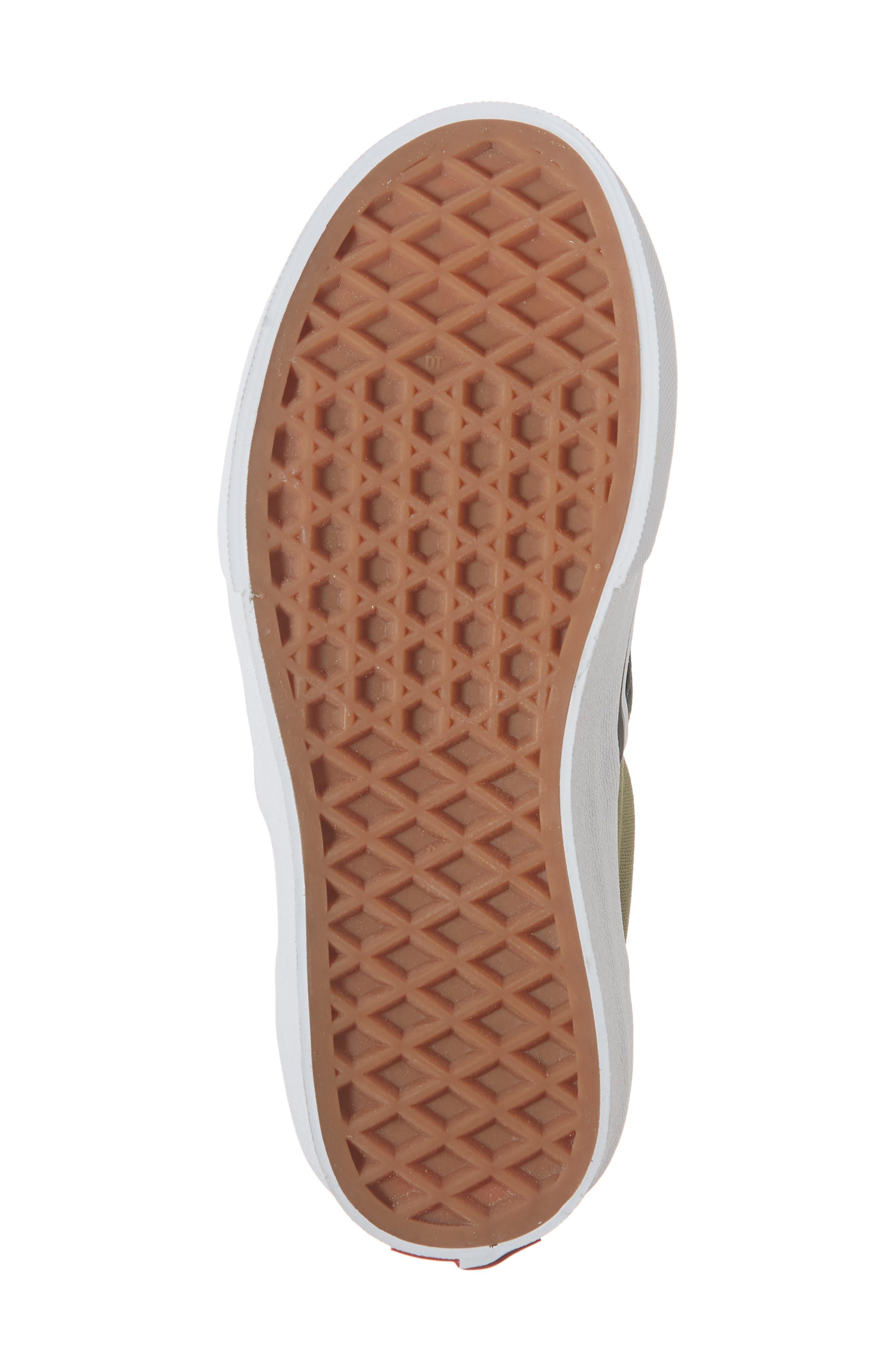 Classic Slip-On Sneaker,                             Alternate thumbnail 6, color,                             WOODLAND CAMO BLACK/ WOODLAND