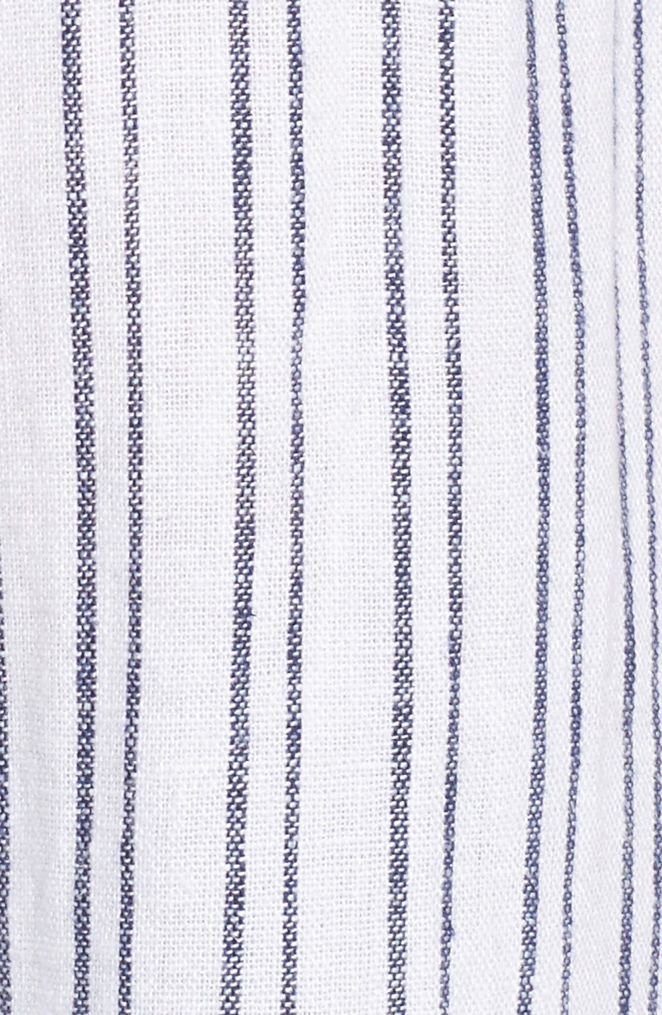 Jimi Stripe Shirt,                             Alternate thumbnail 5, color,
