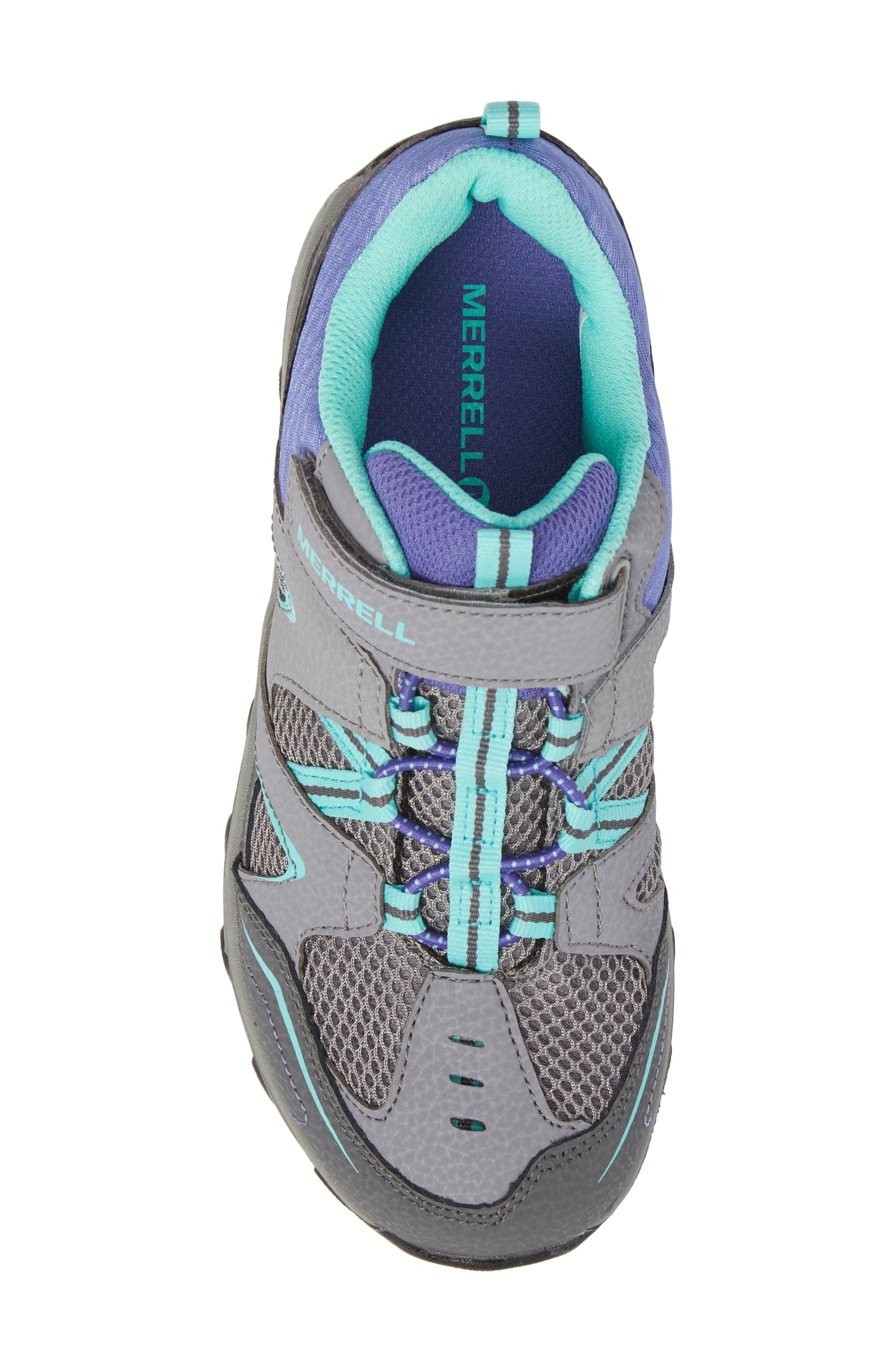 Trail Chaser Sneaker,                             Alternate thumbnail 5, color,                             GREY/ MULTI
