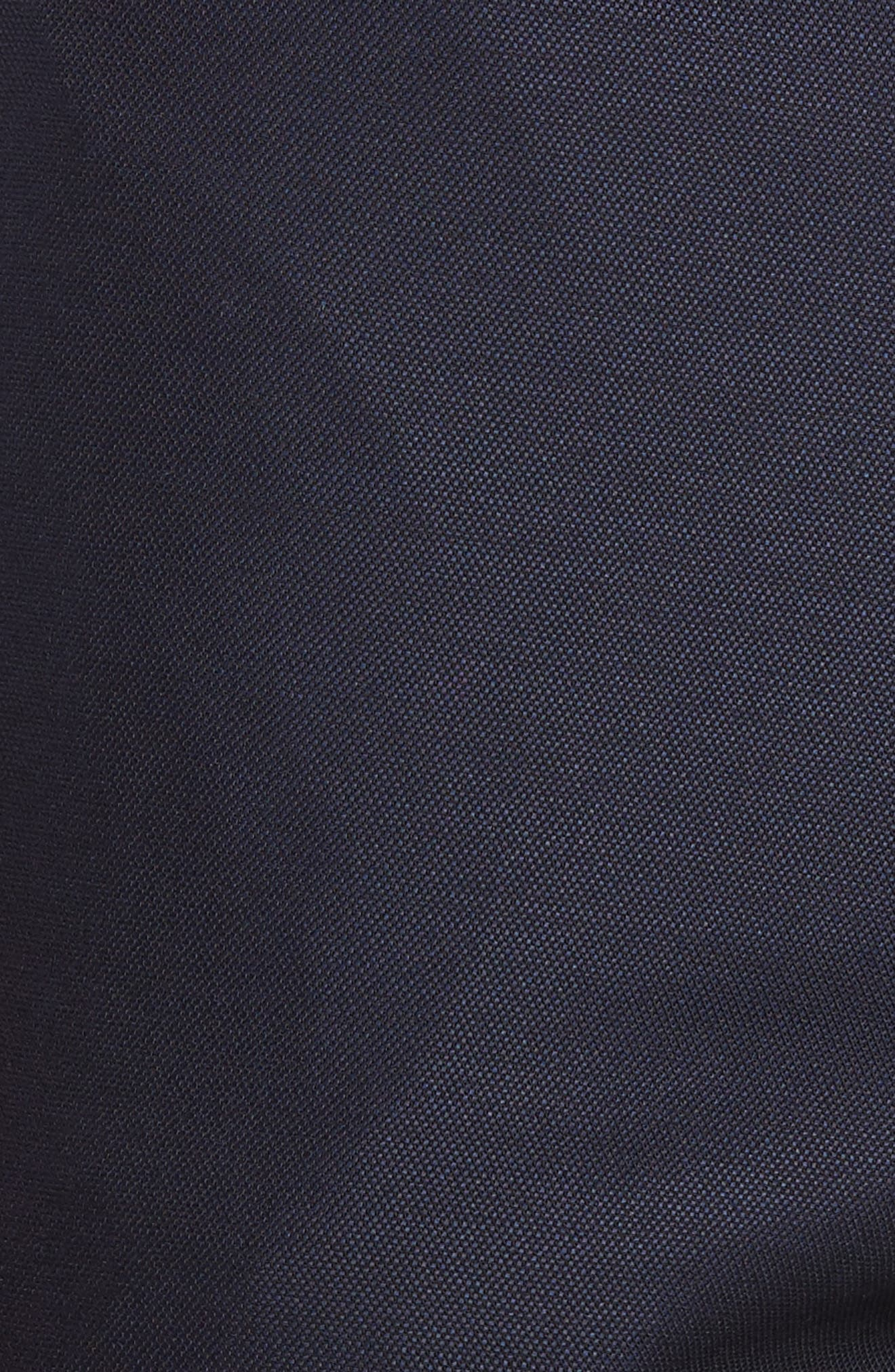 Pin Dot Wool Trousers,                             Alternate thumbnail 4, color,