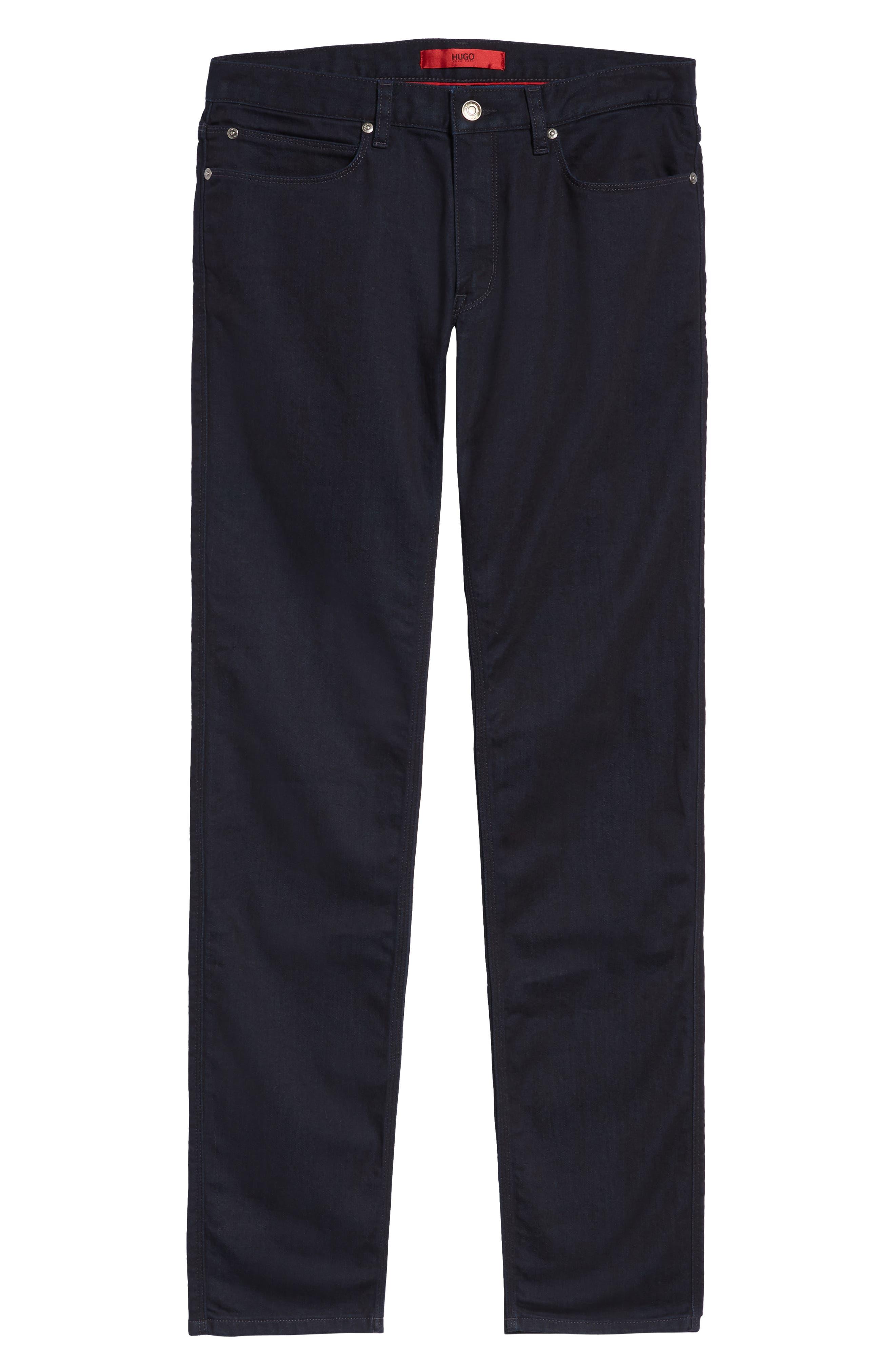 Dressy Slim Fit Jeans,                             Alternate thumbnail 6, color,                             401