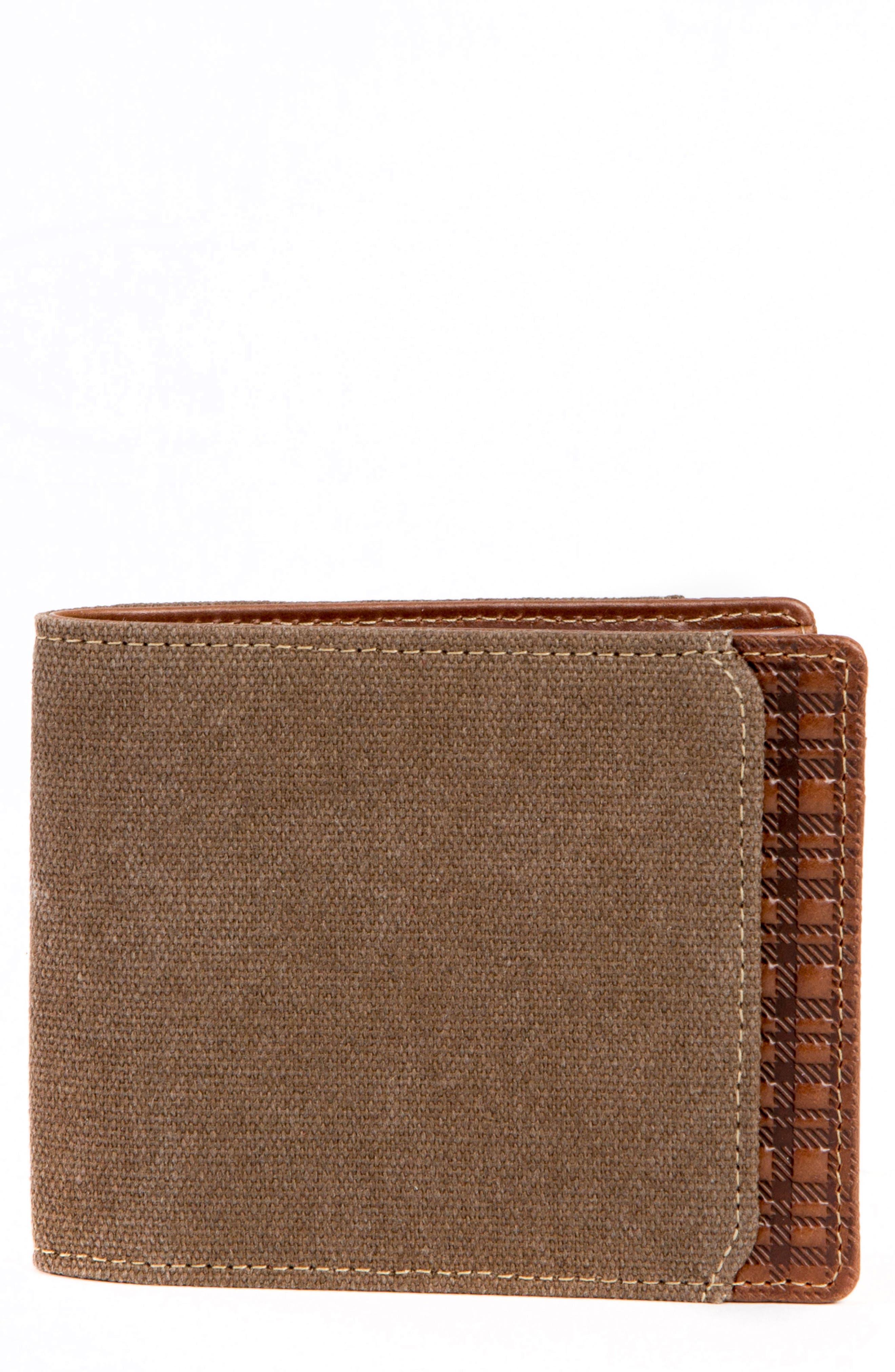 Bryant LTE Wallet,                             Main thumbnail 1, color,                             MAHOGANY/ HEATHER