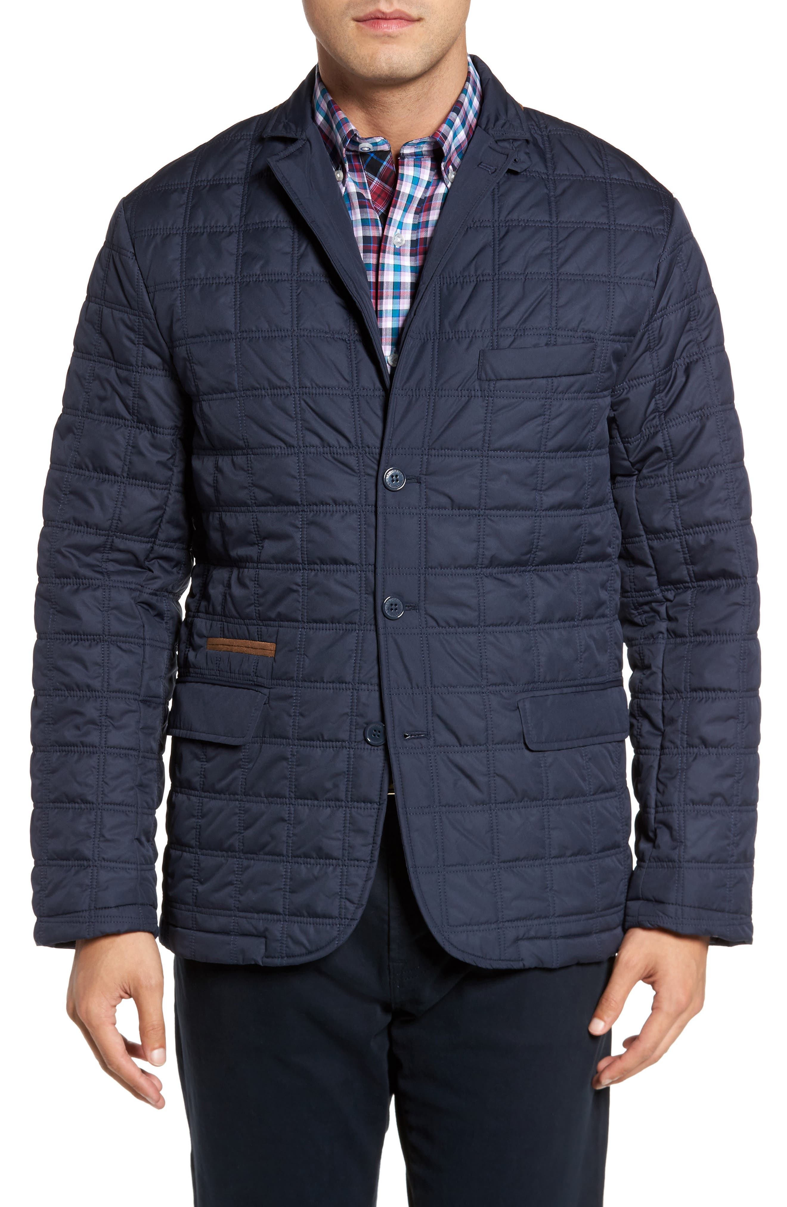 Hodge Quilted Jacket,                             Alternate thumbnail 4, color,                             410