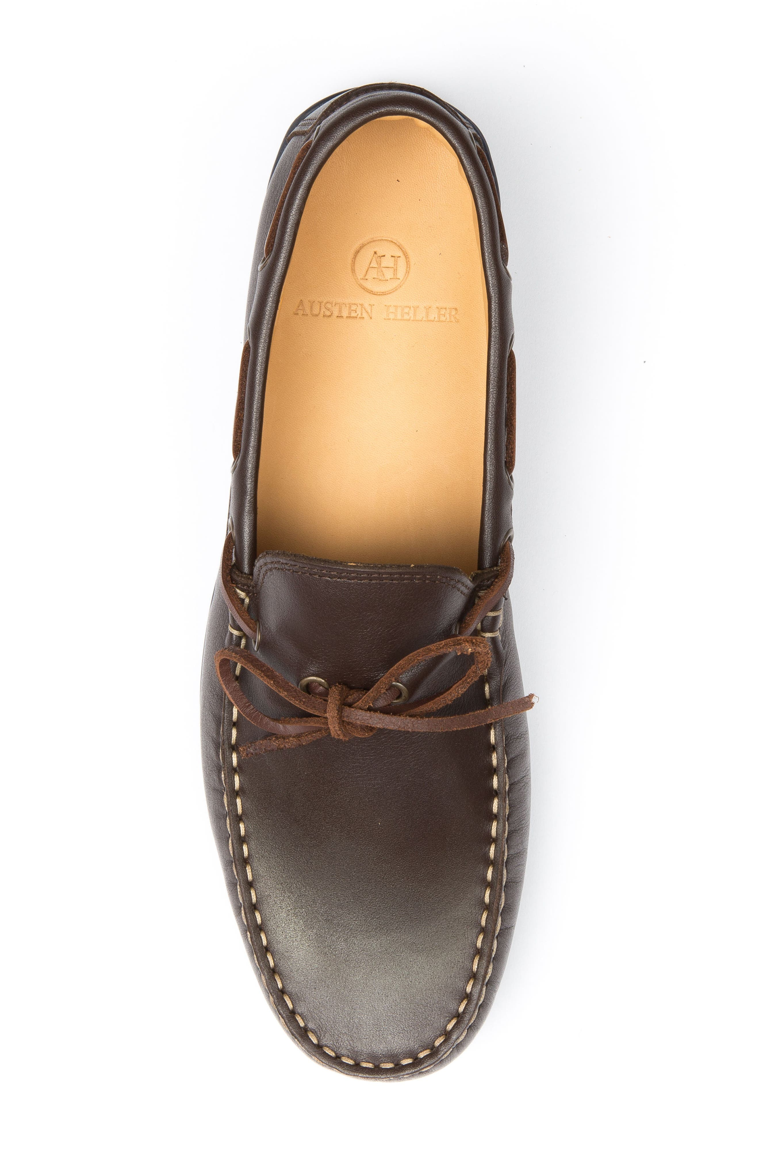 Fillmores Loafer,                             Alternate thumbnail 5, color,                             BROWN LEATHER/ NATURAL/ NAVY