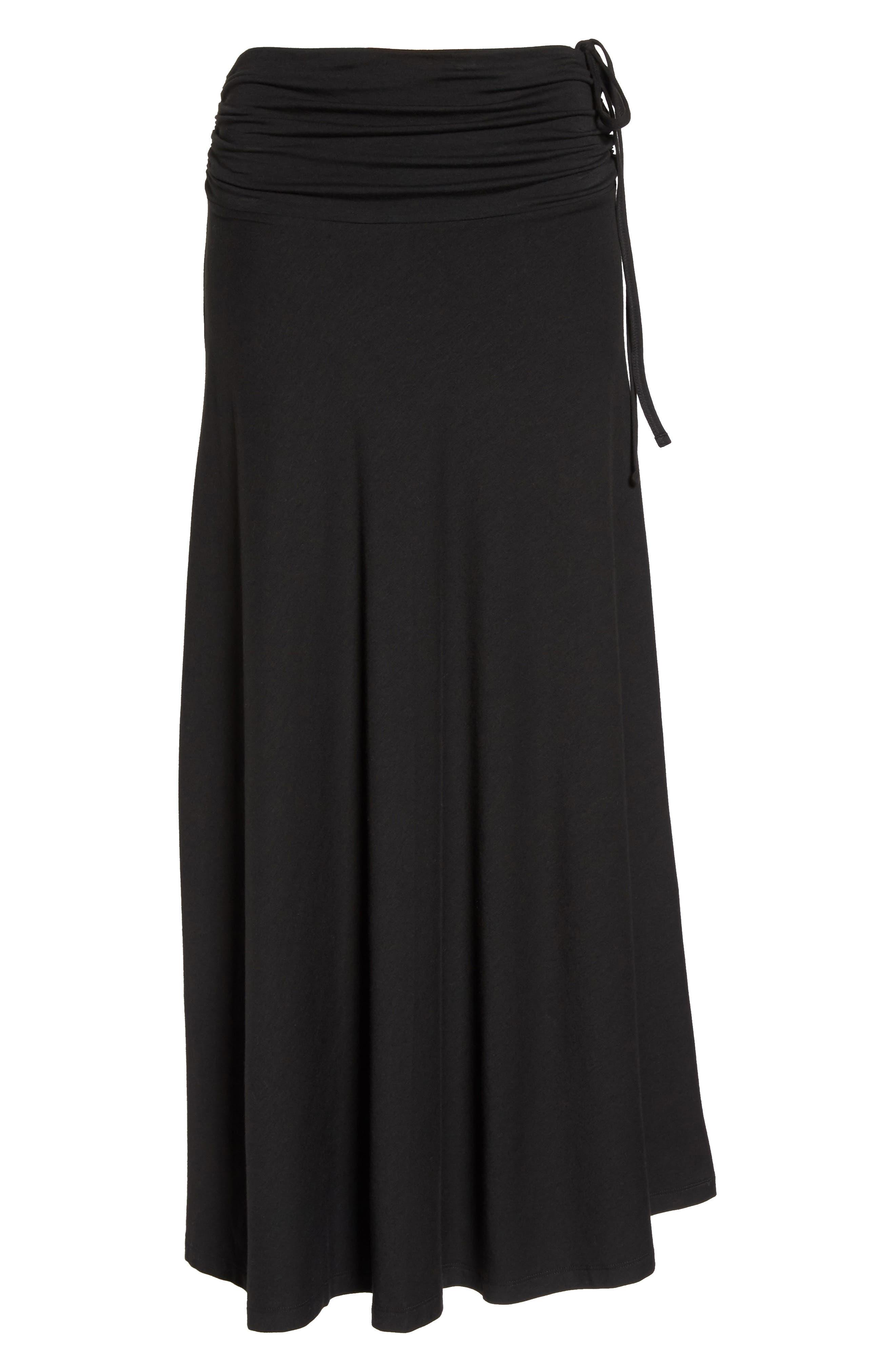 Kamala Maxi Skirt,                             Alternate thumbnail 8, color,                             001