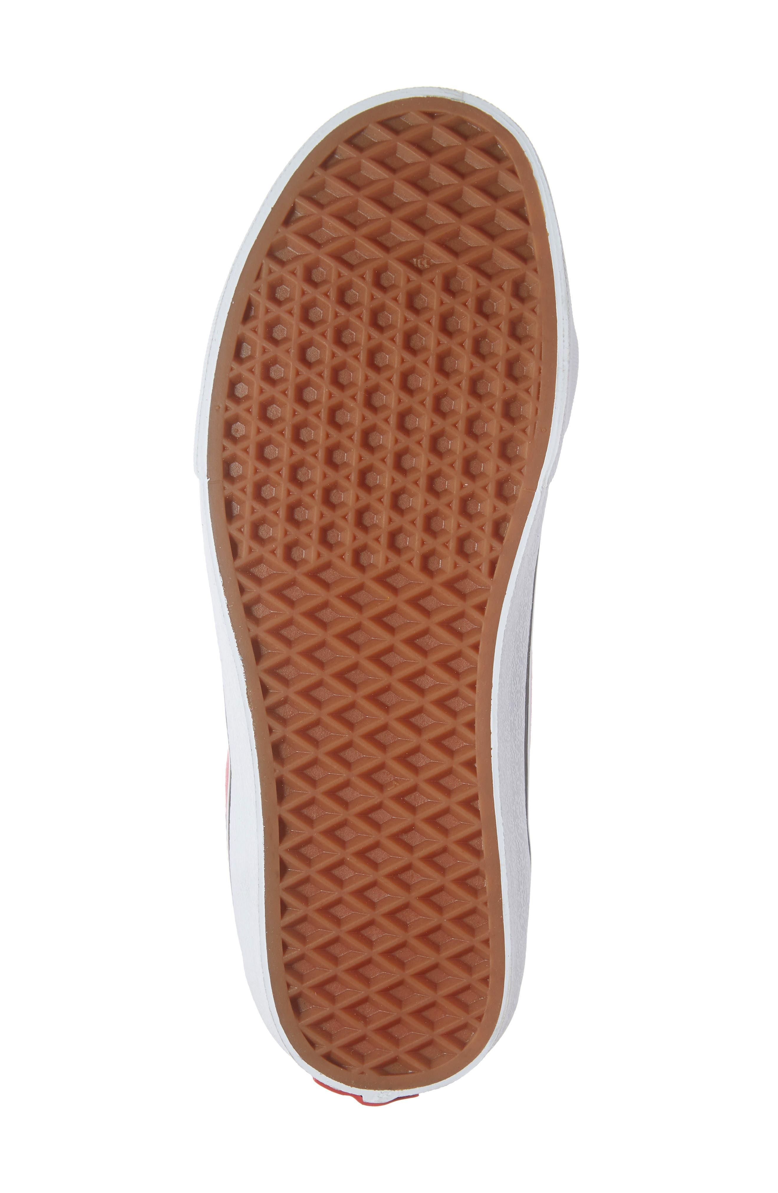 VANS,                             Sk8-Mid Reissue Sneaker,                             Alternate thumbnail 6, color,                             660