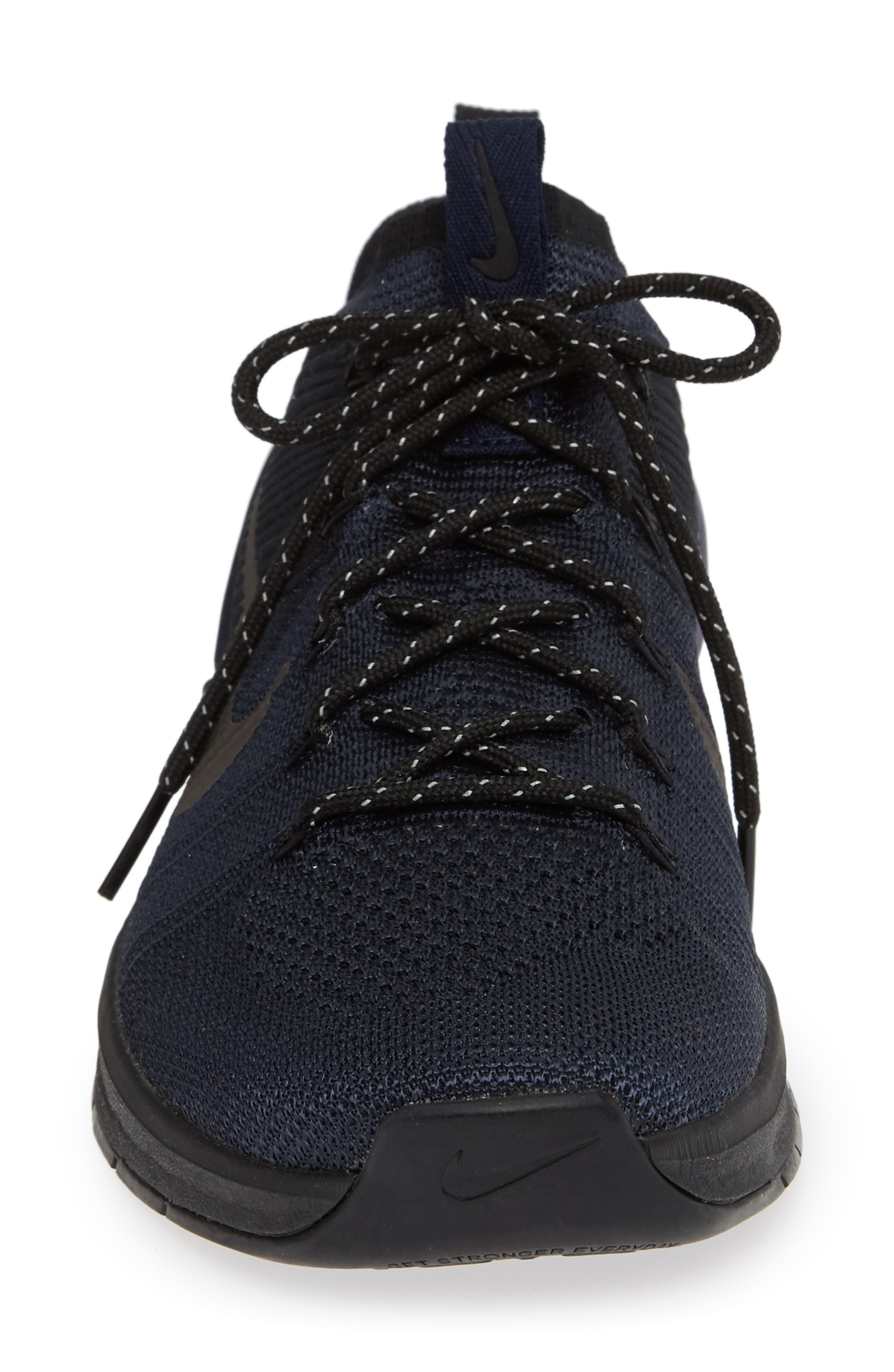 Metcon DSX Flyknit 2 AMP Sneaker,                             Alternate thumbnail 4, color,                             004